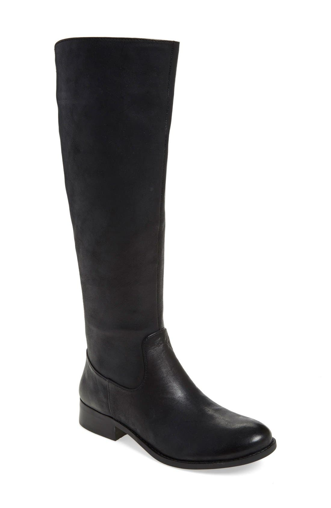 JESSICA SIMPSON,                             'Ressie' Riding Boot,                             Main thumbnail 1, color,                             001