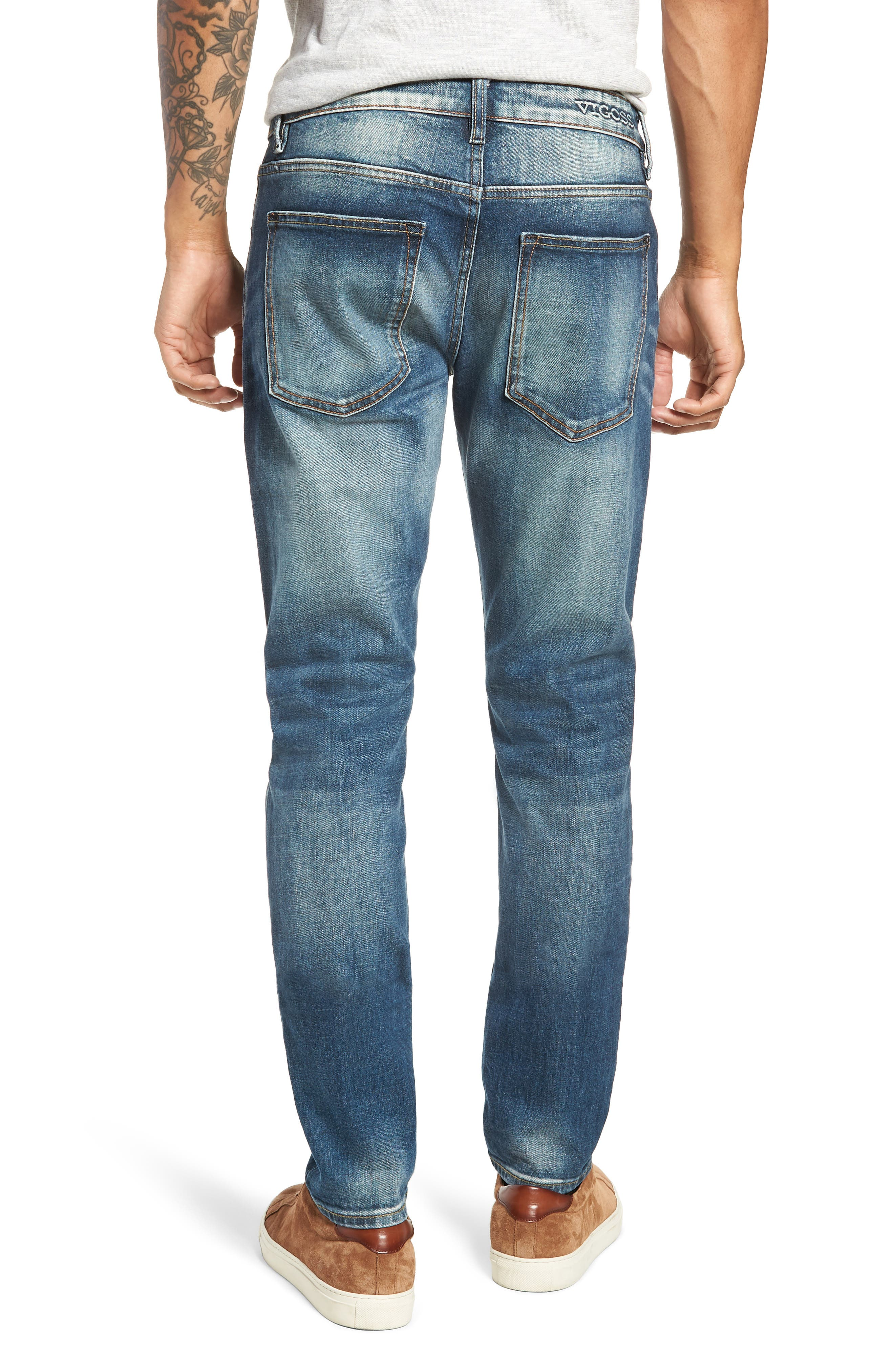 Jude Slim Fit Jeans,                             Alternate thumbnail 2, color,                             409