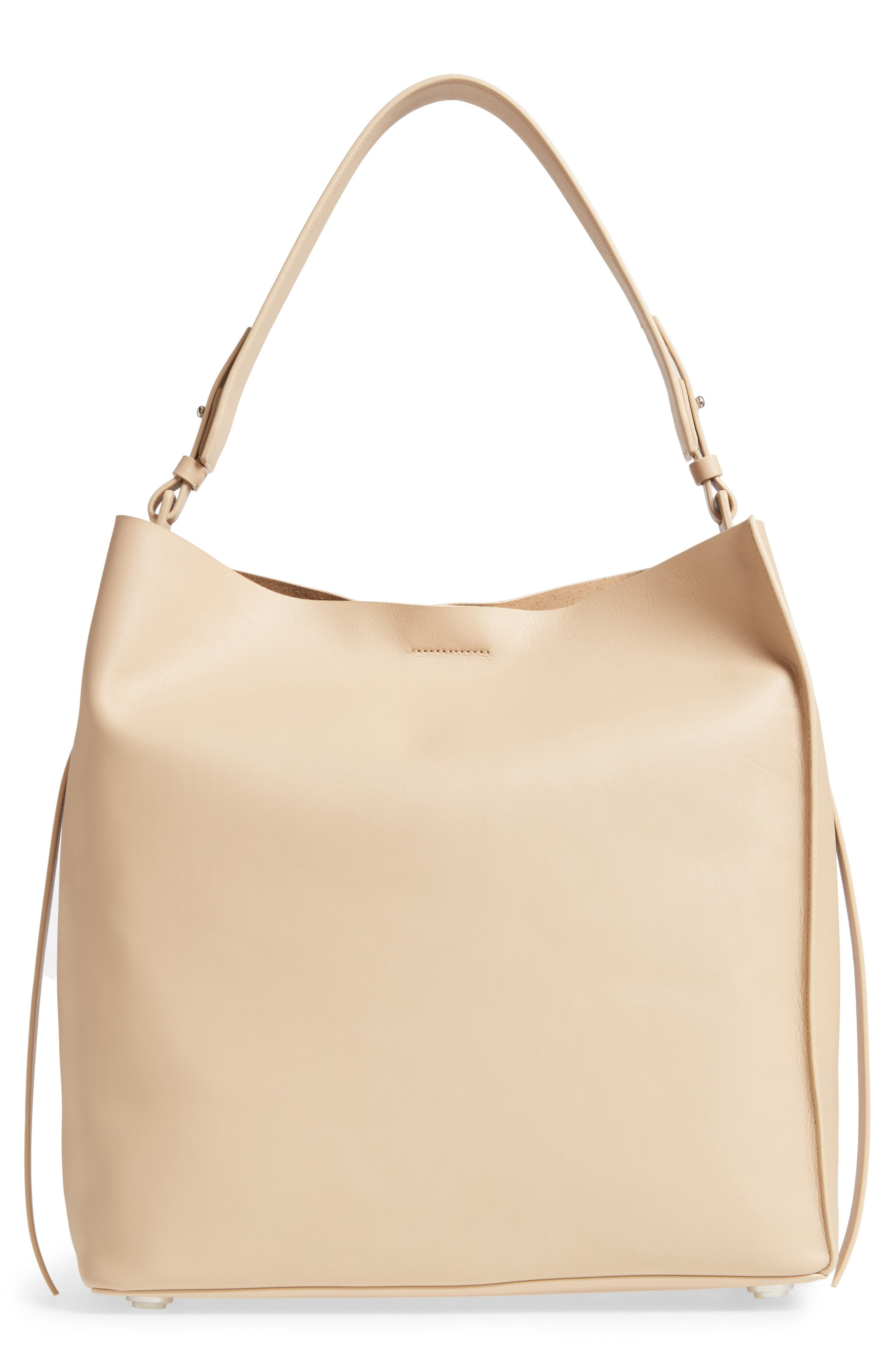 'Paradise North/South' Calfskin Leather Tote, Main, color, 108