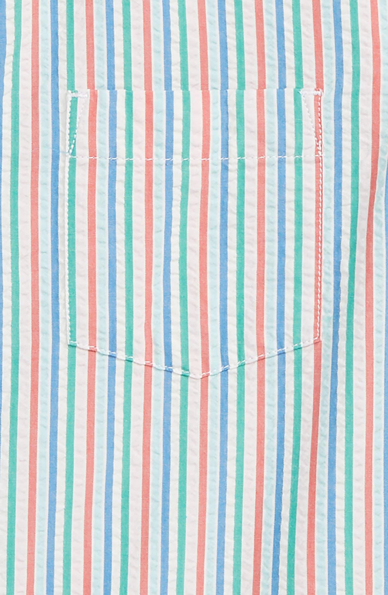 CREWCUTS BY J.CREW,                             Seersucker Shirt,                             Alternate thumbnail 2, color,                             MAR VISTA IVORY MULTI