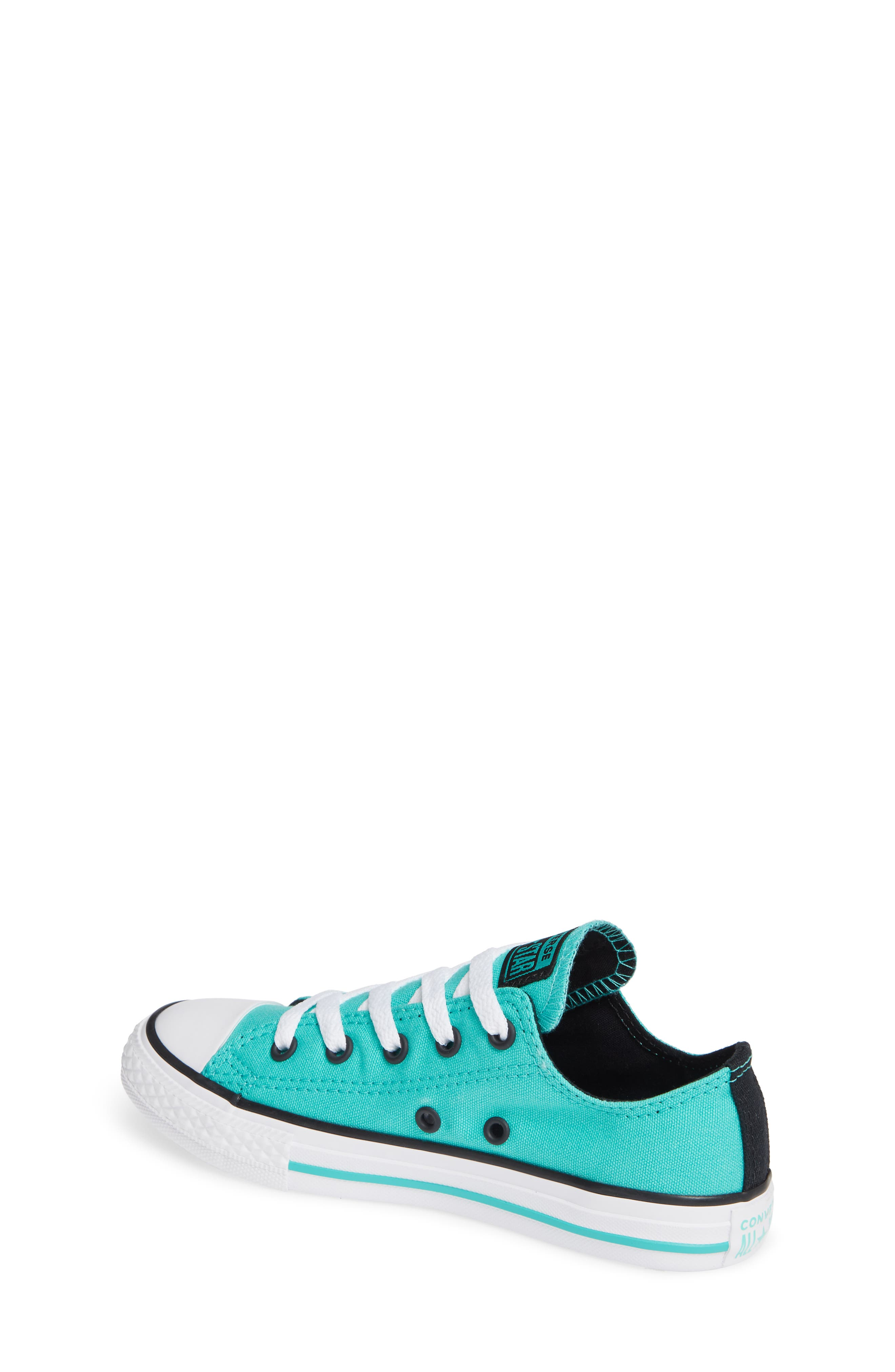 Chuck Taylor<sup>®</sup> Sneaker,                             Alternate thumbnail 2, color,                             PURE TEAL