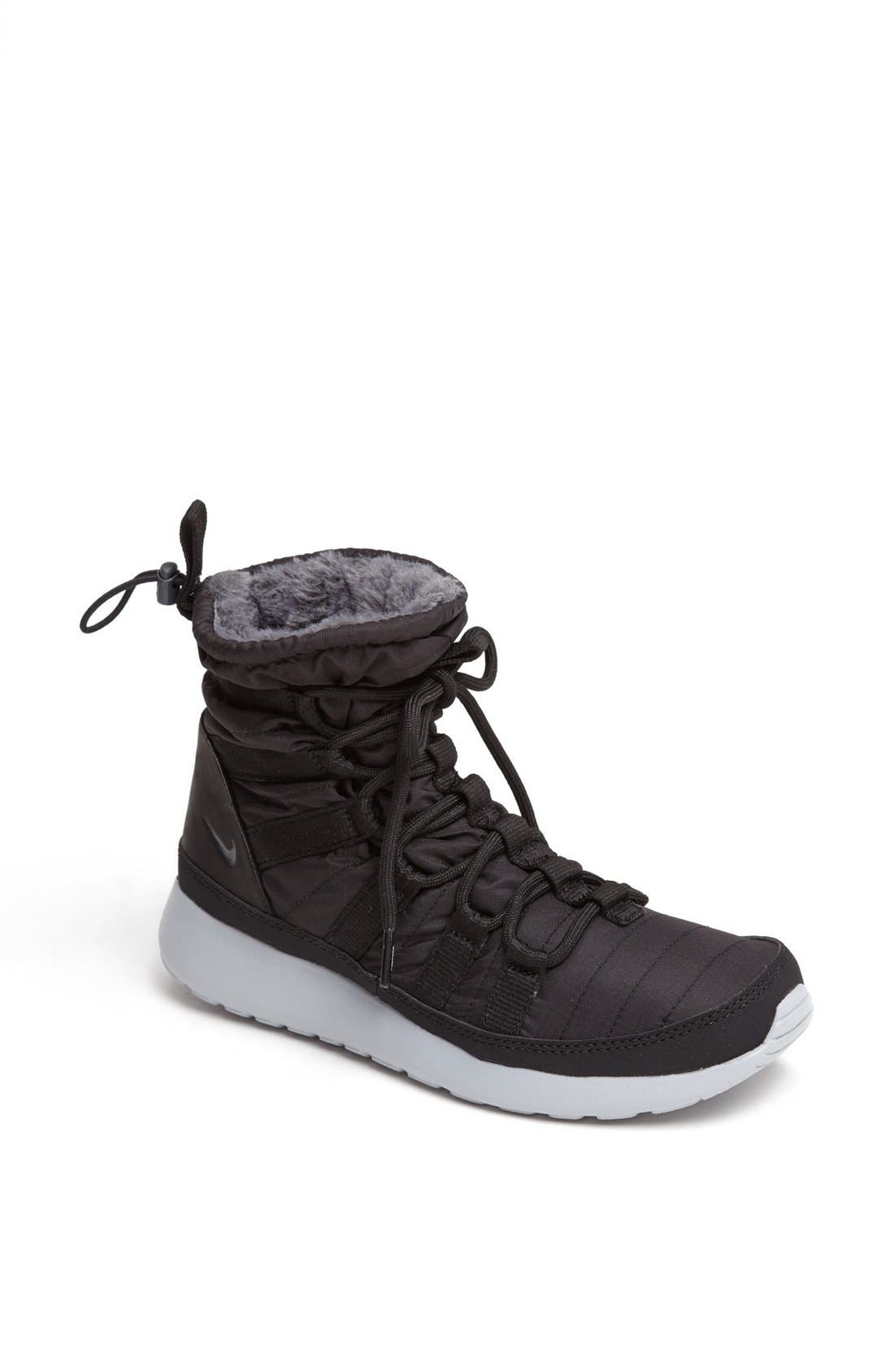 'Roshe Run' Sneaker Boot,                             Main thumbnail 1, color,                             002