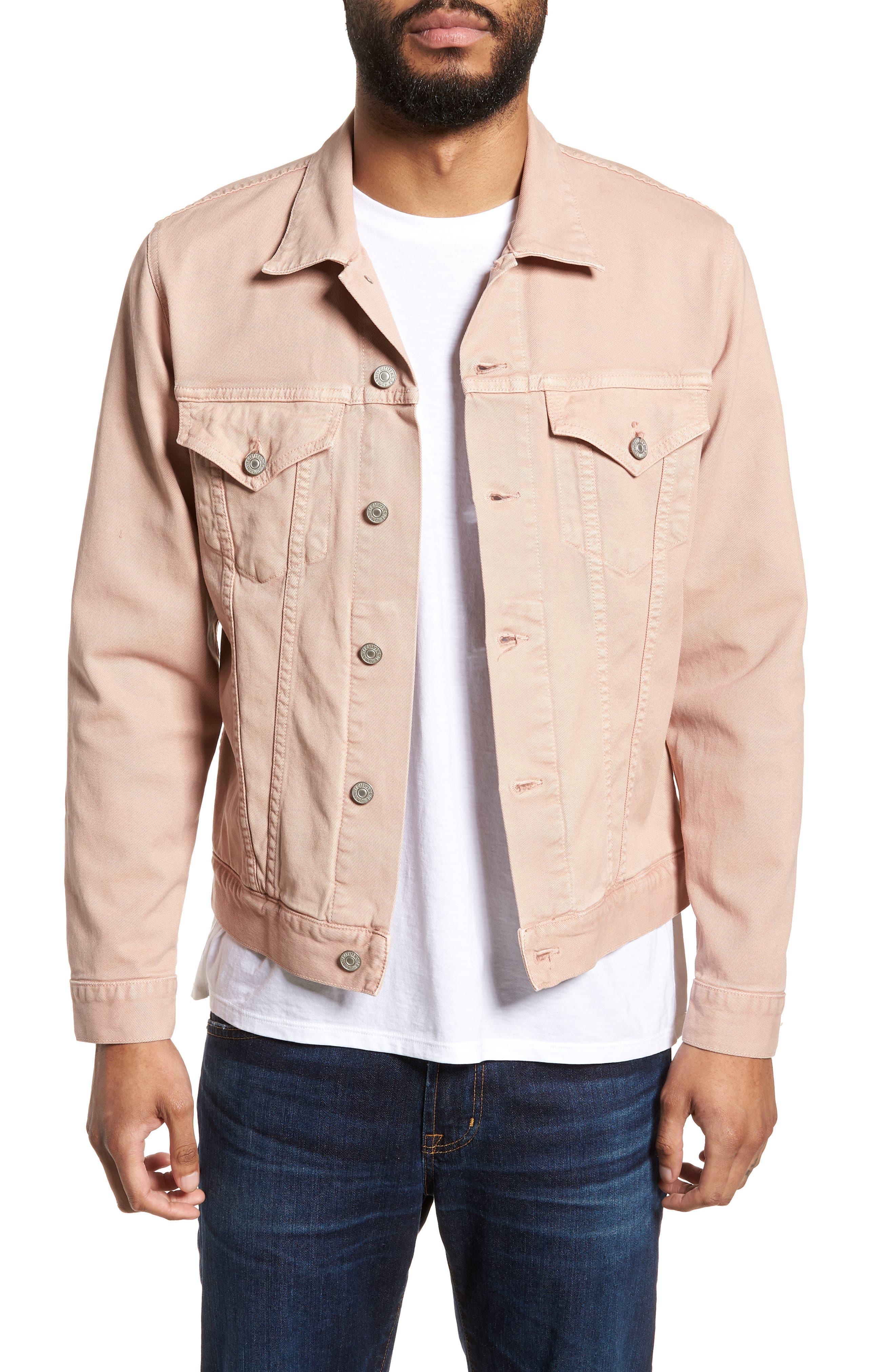 Classic Denim Jacket,                             Main thumbnail 1, color,                             250