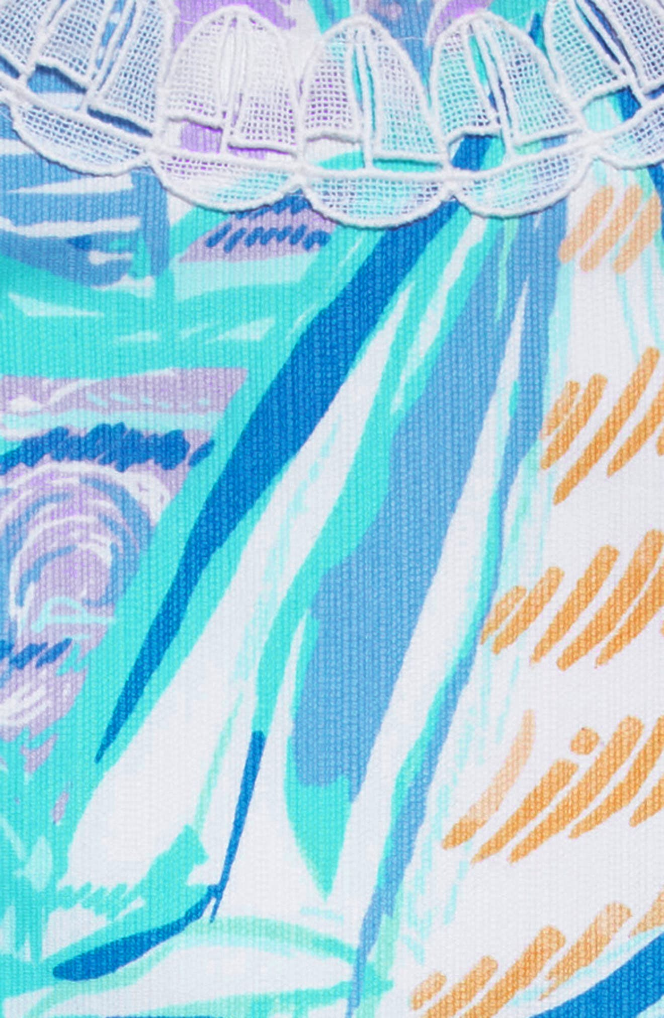 LILLY PULITZER<SUP>®</SUP>,                             Little Lilly Classic Shift Dress,                             Alternate thumbnail 3, color,                             402