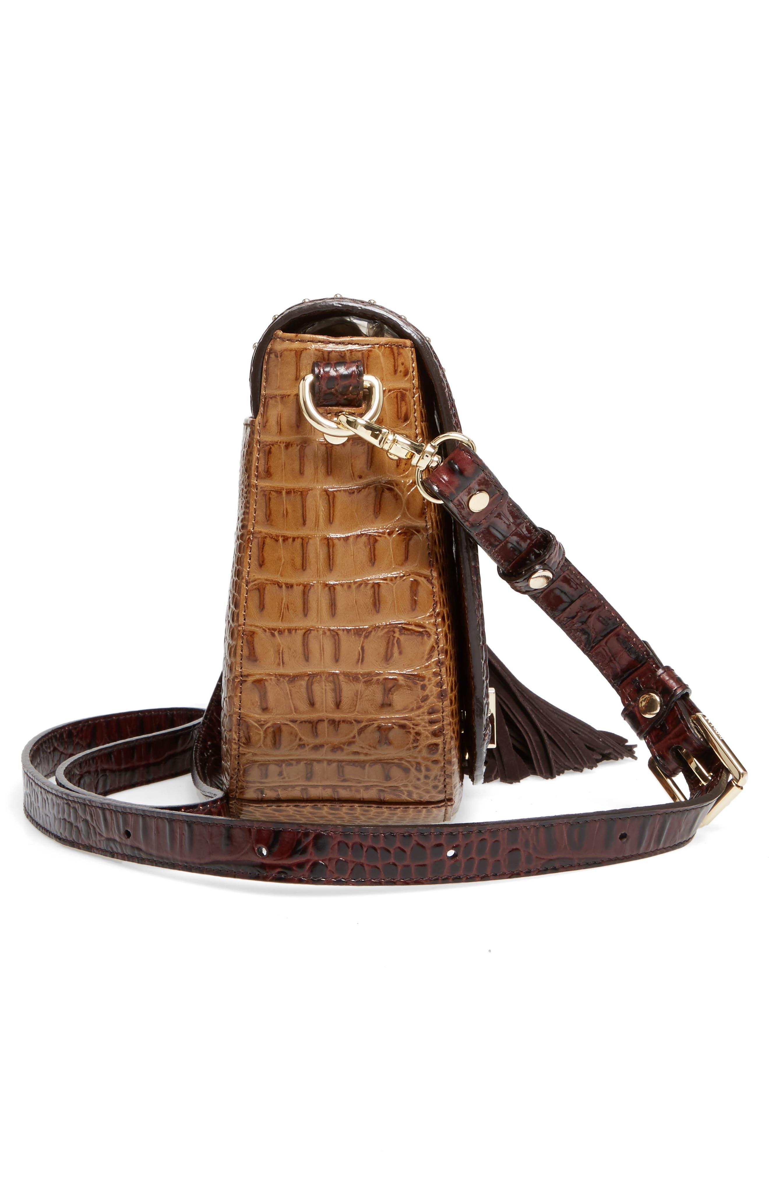 Mini Sonny Genuine Calf Hair & Leather Crossbody Bag,                             Alternate thumbnail 5, color,