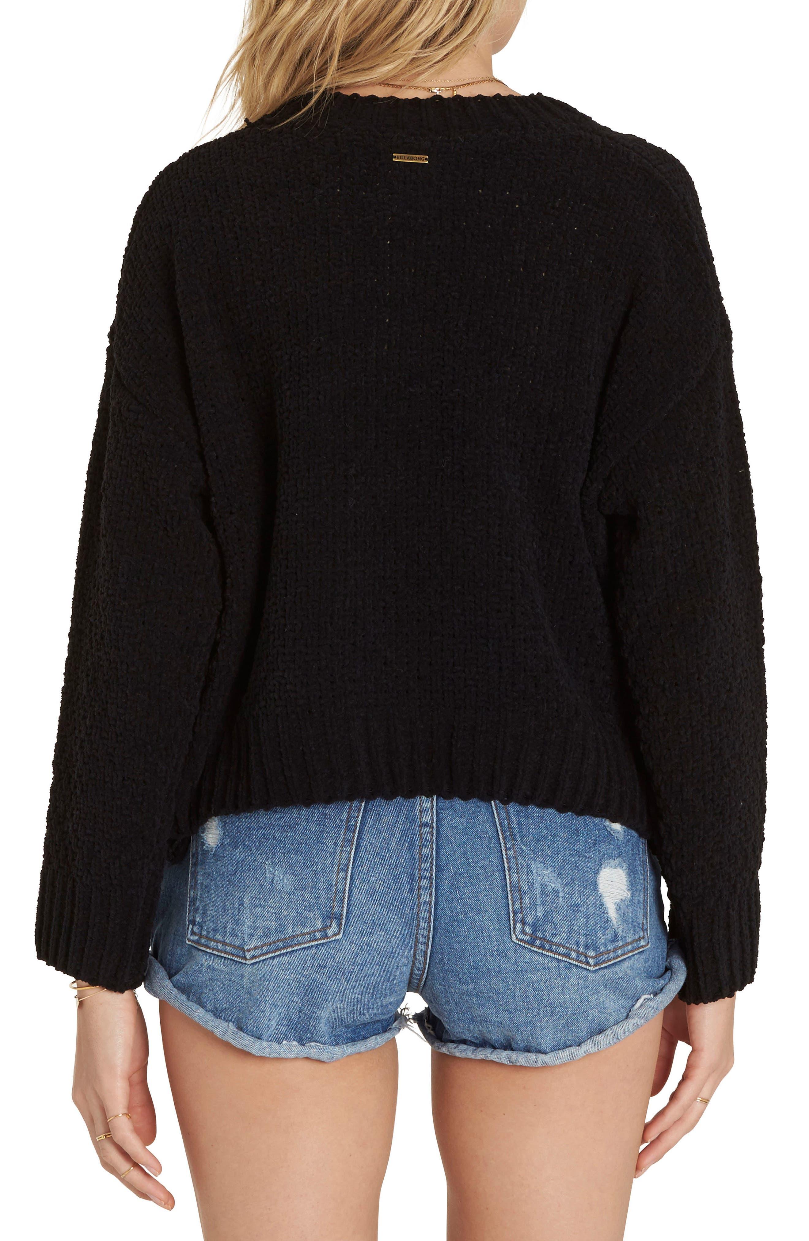 All Mine Chenille Sweater,                             Alternate thumbnail 2, color,                             001