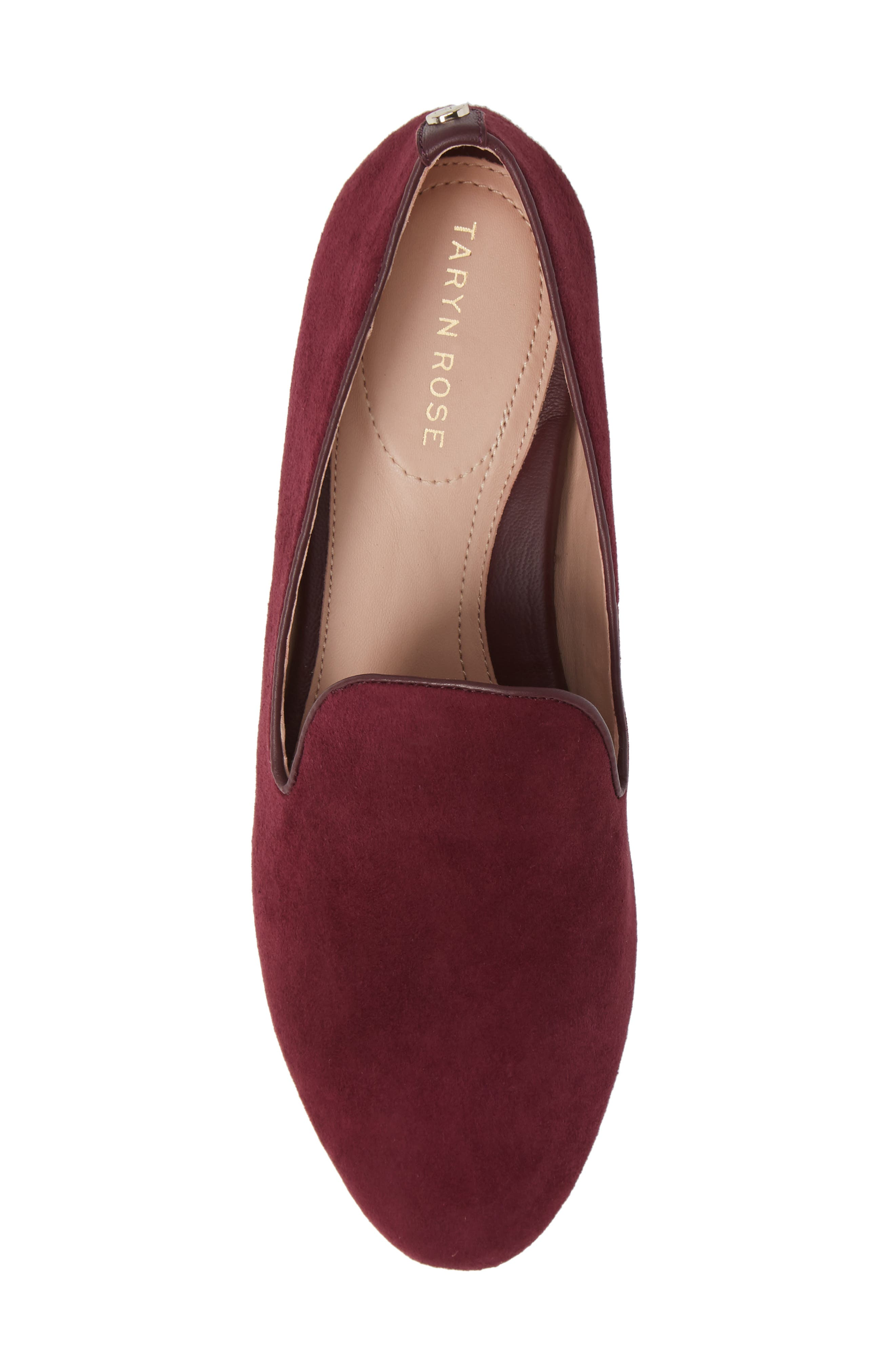 TARYN ROSE,                             Bryanna Loafer,                             Alternate thumbnail 5, color,                             FIG SUEDE