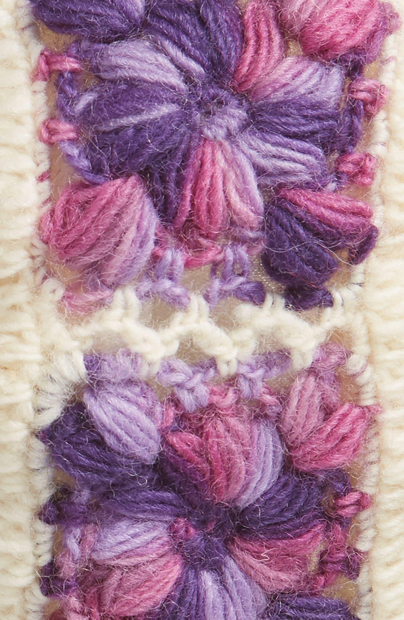 Crochet Ear Warmer Headband,                             Alternate thumbnail 23, color,
