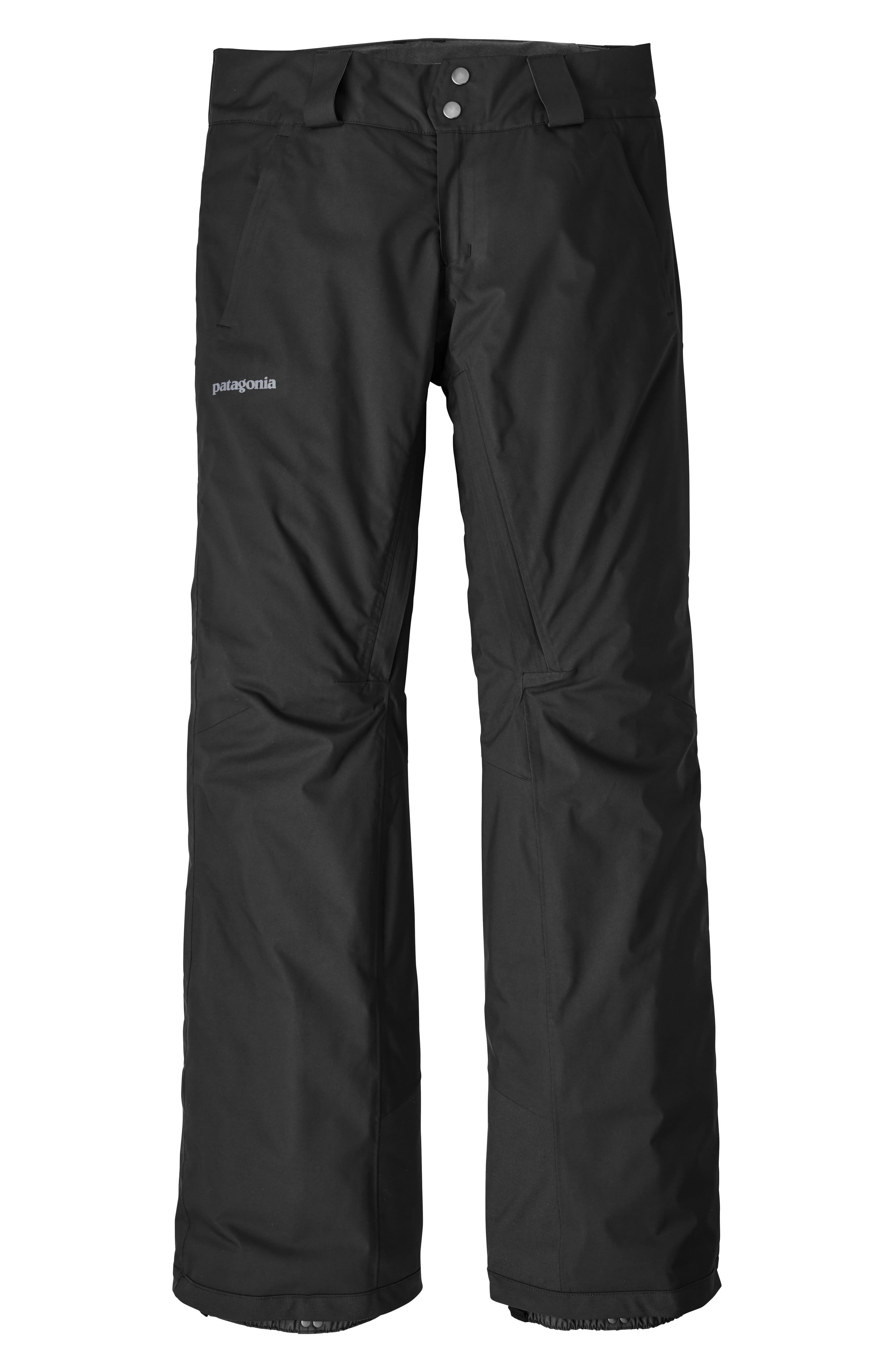 Snowbelle Insulated Snow Pants,                             Main thumbnail 1, color,                             BLACK