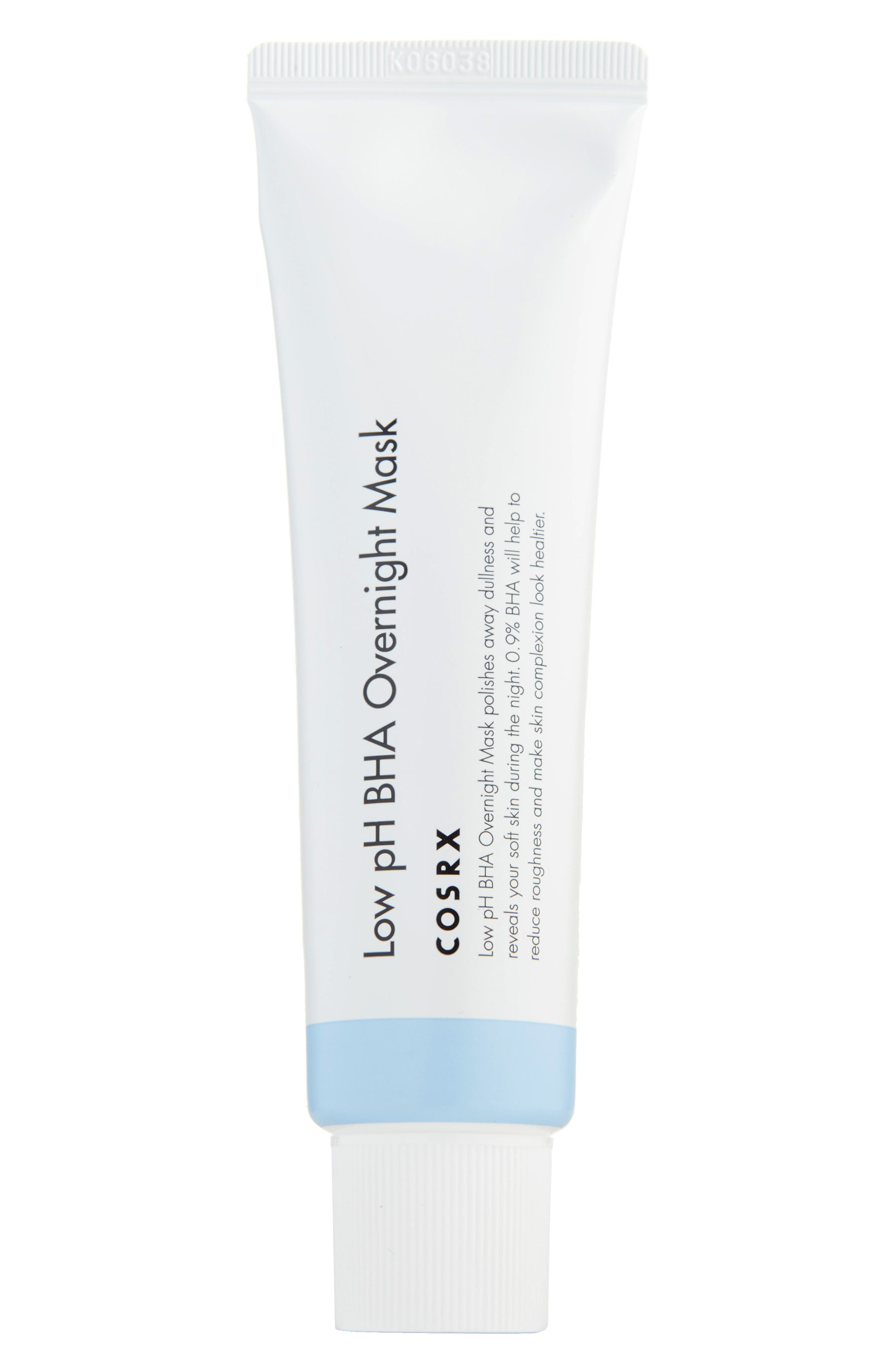 COSRX Low Ph Bha Overnight Mask in Clear