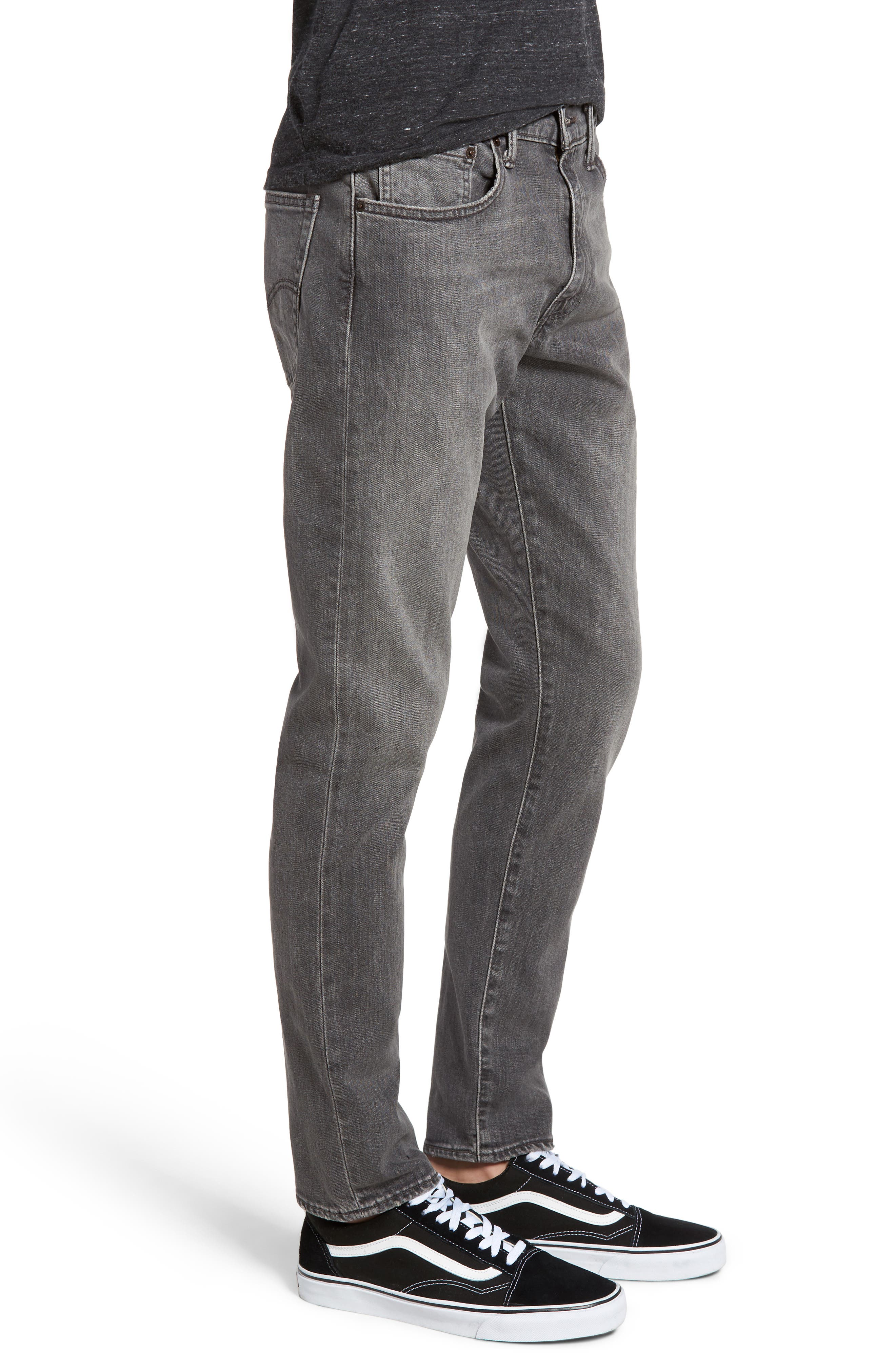 512<sup>™</sup> Slouchy Skinny Fit Jeans,                             Alternate thumbnail 3, color,                             001