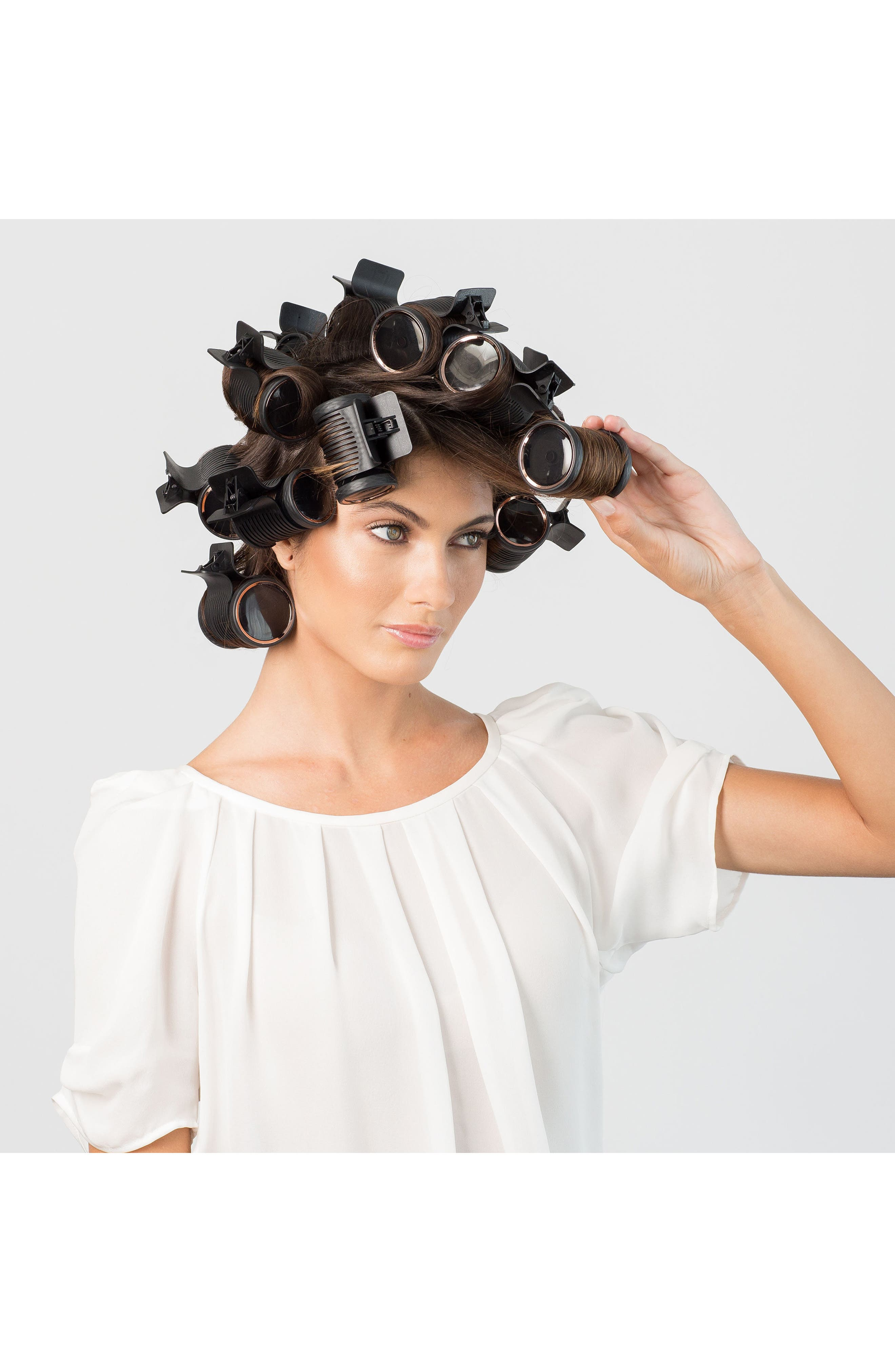 Volumizing Hot Rollers Luxe,                             Alternate thumbnail 2, color,                             NO COLOR