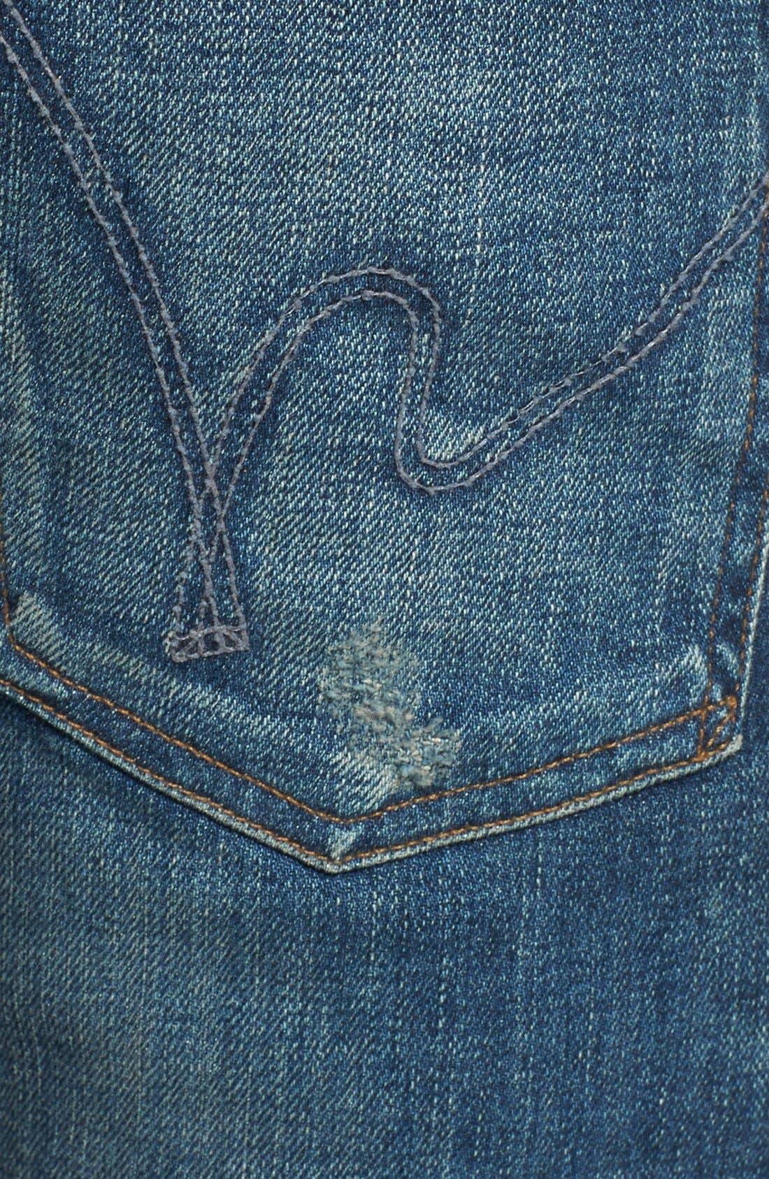'Core' Slim Fit Jeans,                             Alternate thumbnail 3, color,                             MORRISON