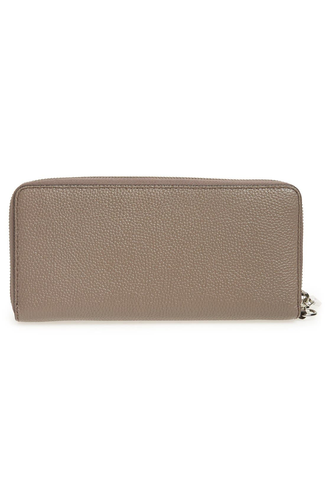 'Mercer' Leather Continental Wallet,                             Alternate thumbnail 28, color,