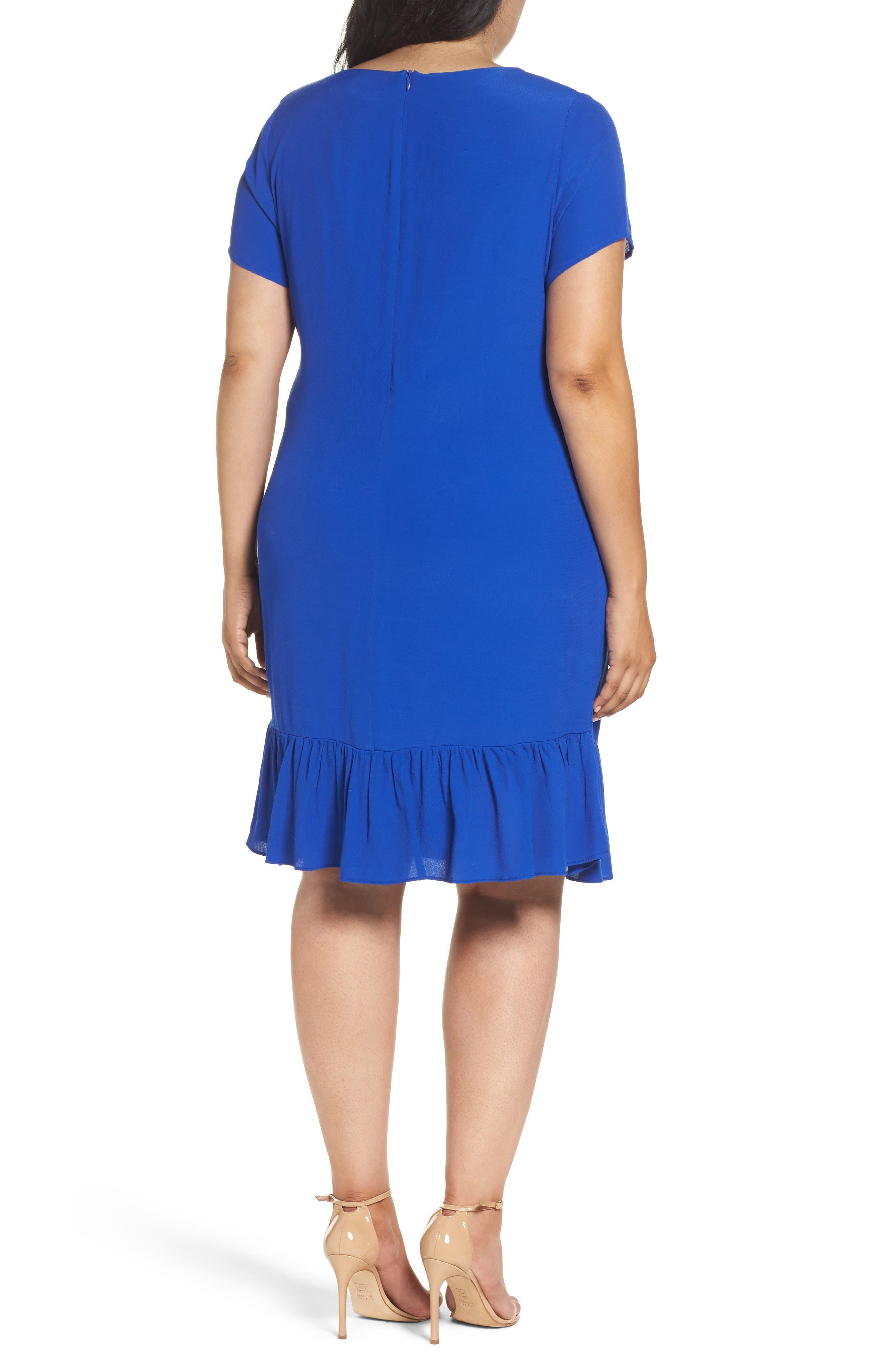 Drop Waist Knit Dress,                             Alternate thumbnail 2, color,