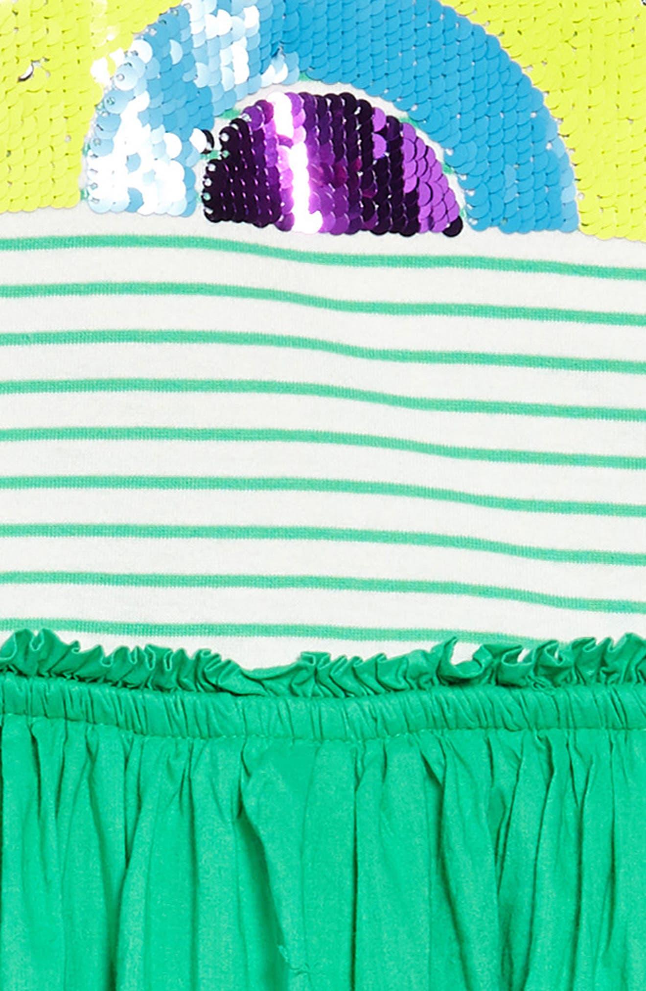Flip-Sequin Dress,                             Alternate thumbnail 3, color,                             315