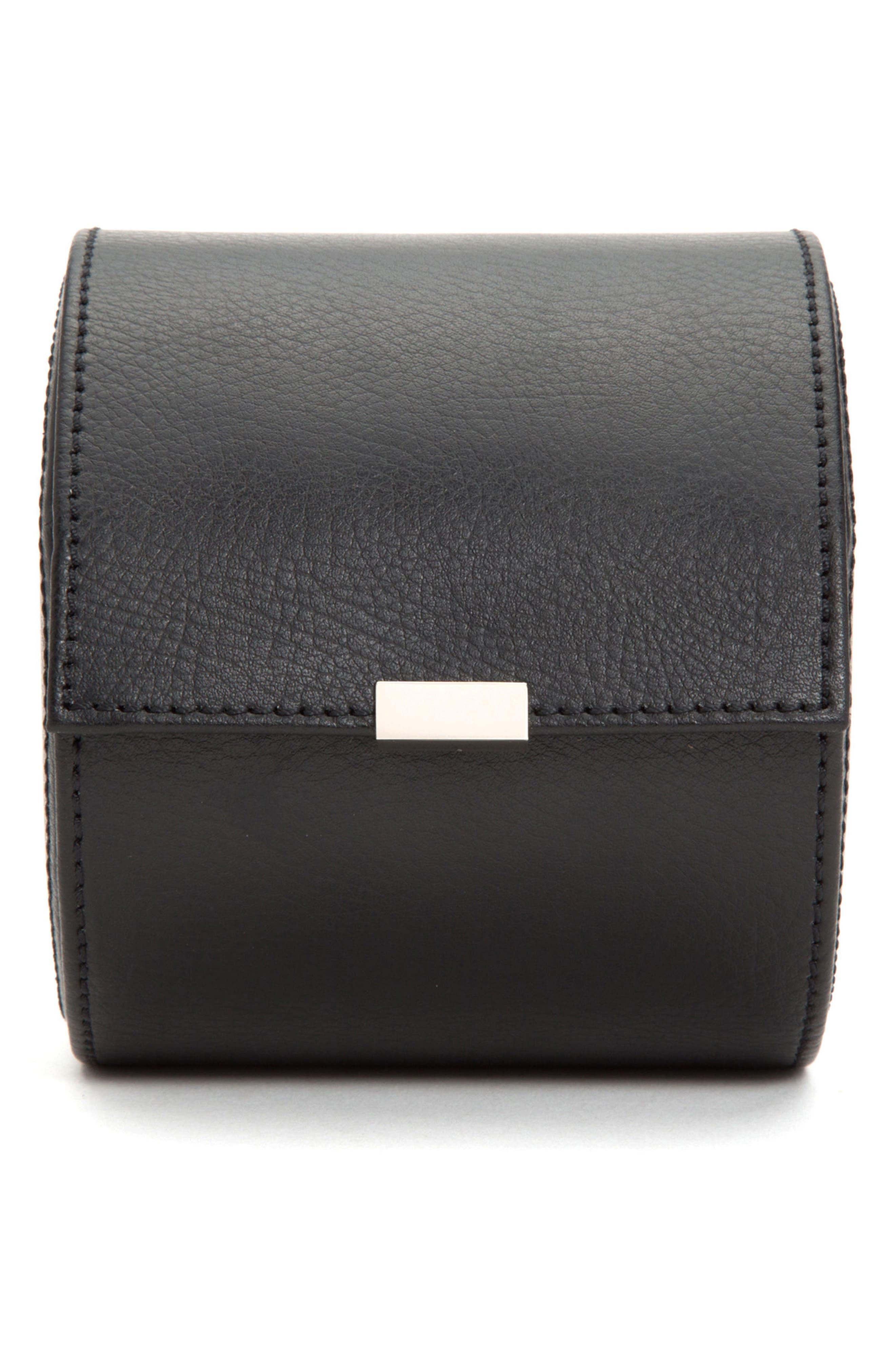 Howard Tie Roll Case,                         Main,                         color, BLACK