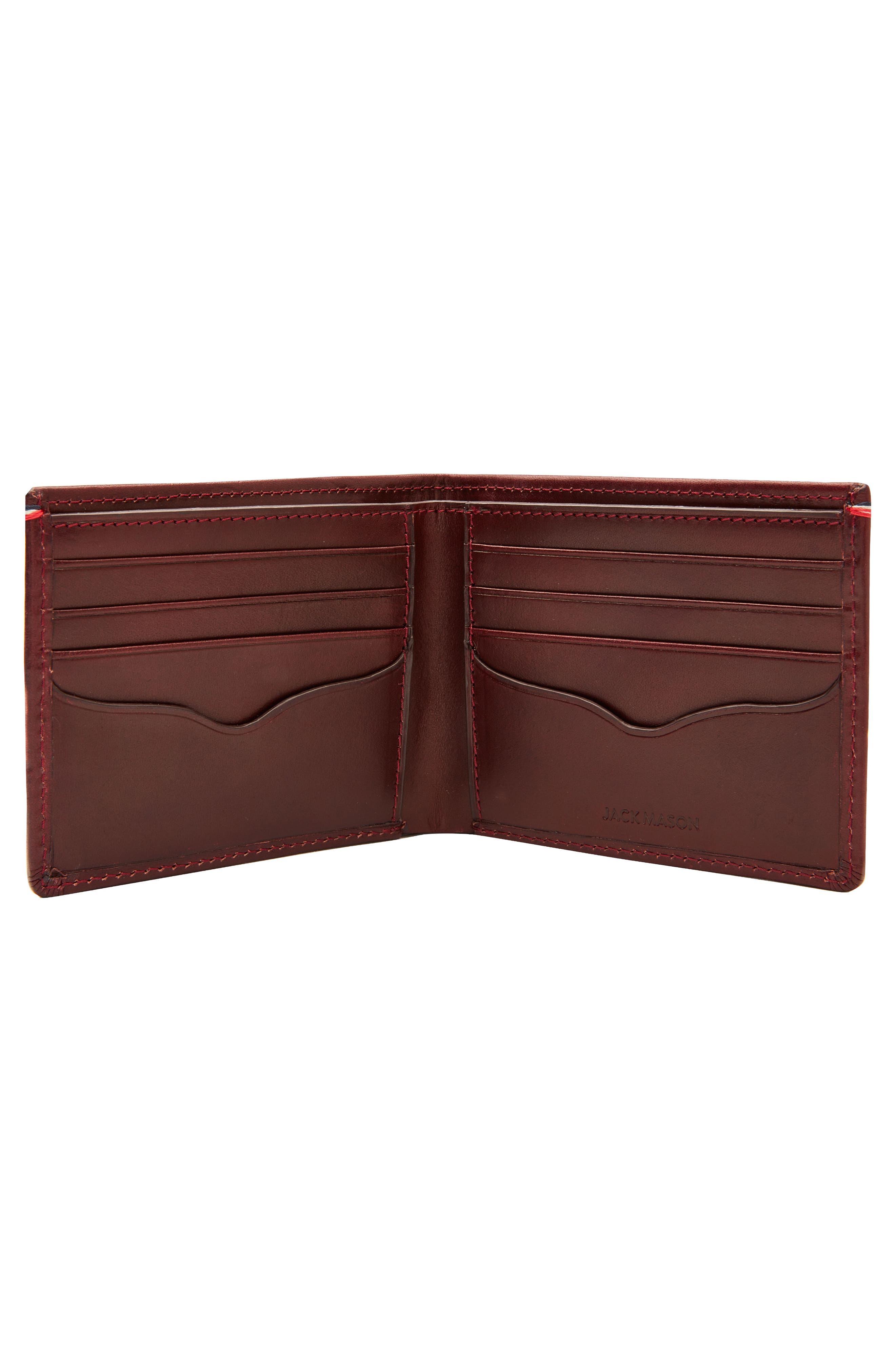 Core Leather Wallet,                             Alternate thumbnail 6, color,