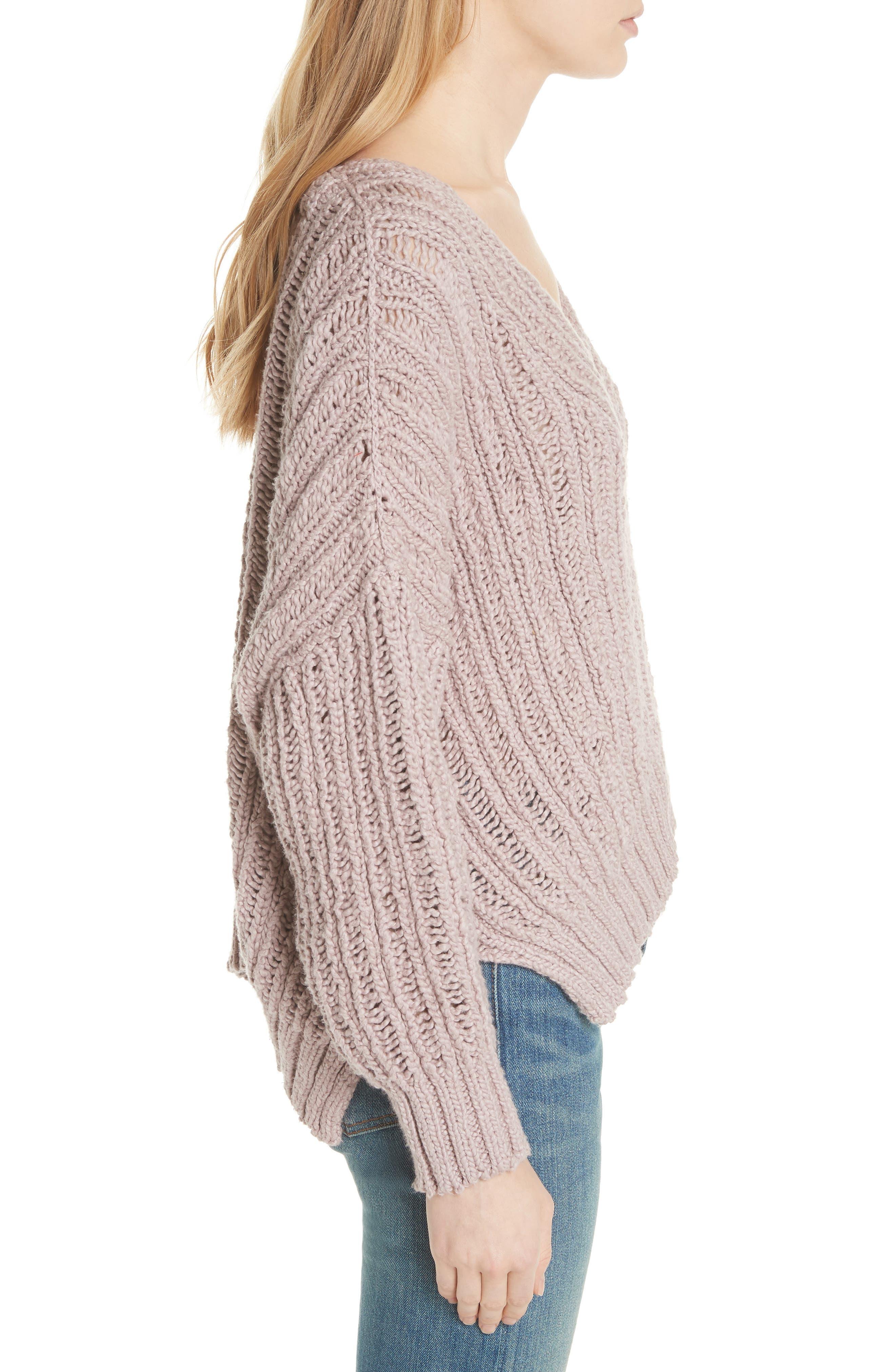 Infinite V-Neck Sweater,                             Alternate thumbnail 7, color,