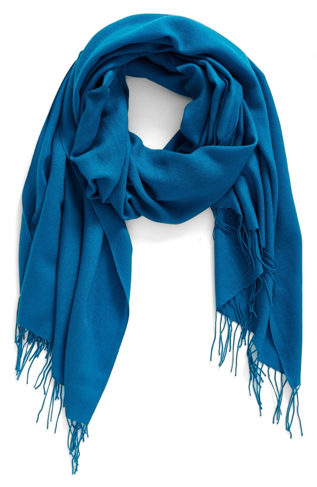 Tissue Weight Wool & Cashmere Scarf,                             Main thumbnail 35, color,