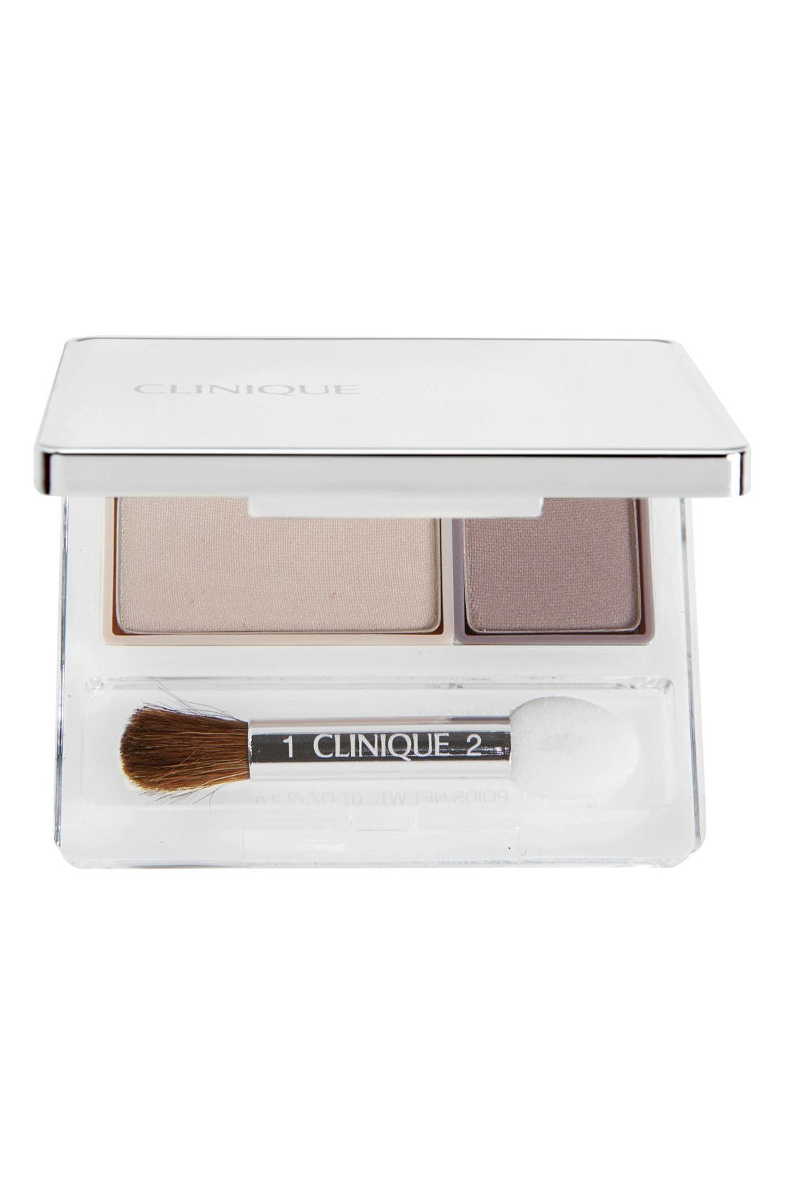 All About Shadow Eyeshadow Duo,                             Main thumbnail 1, color,                             TWILIGHT MAUVE/BRANDIED