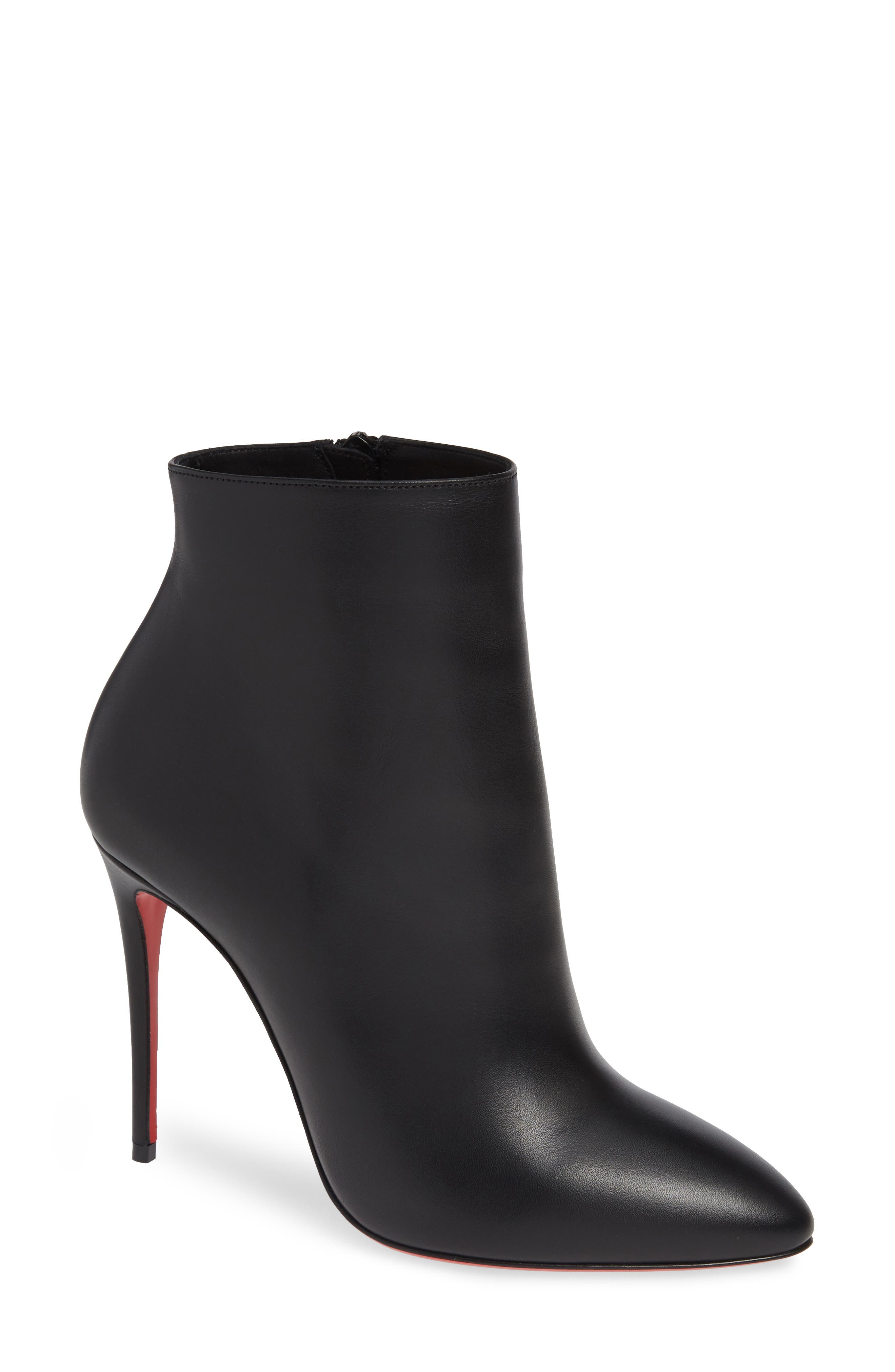 Eloise Pointy Toe Bootie, Main, color, BLACK
