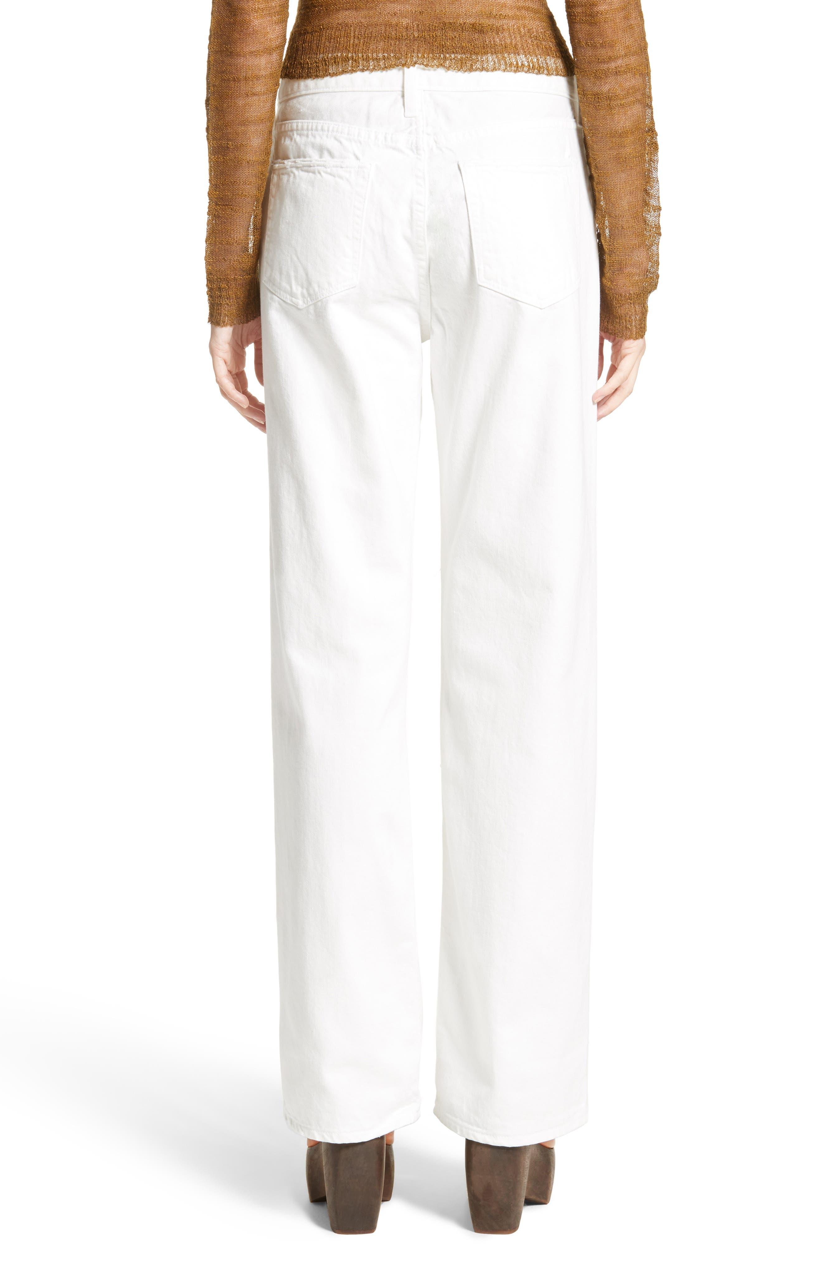 Latta Ankle Jeans,                             Alternate thumbnail 2, color,                             100