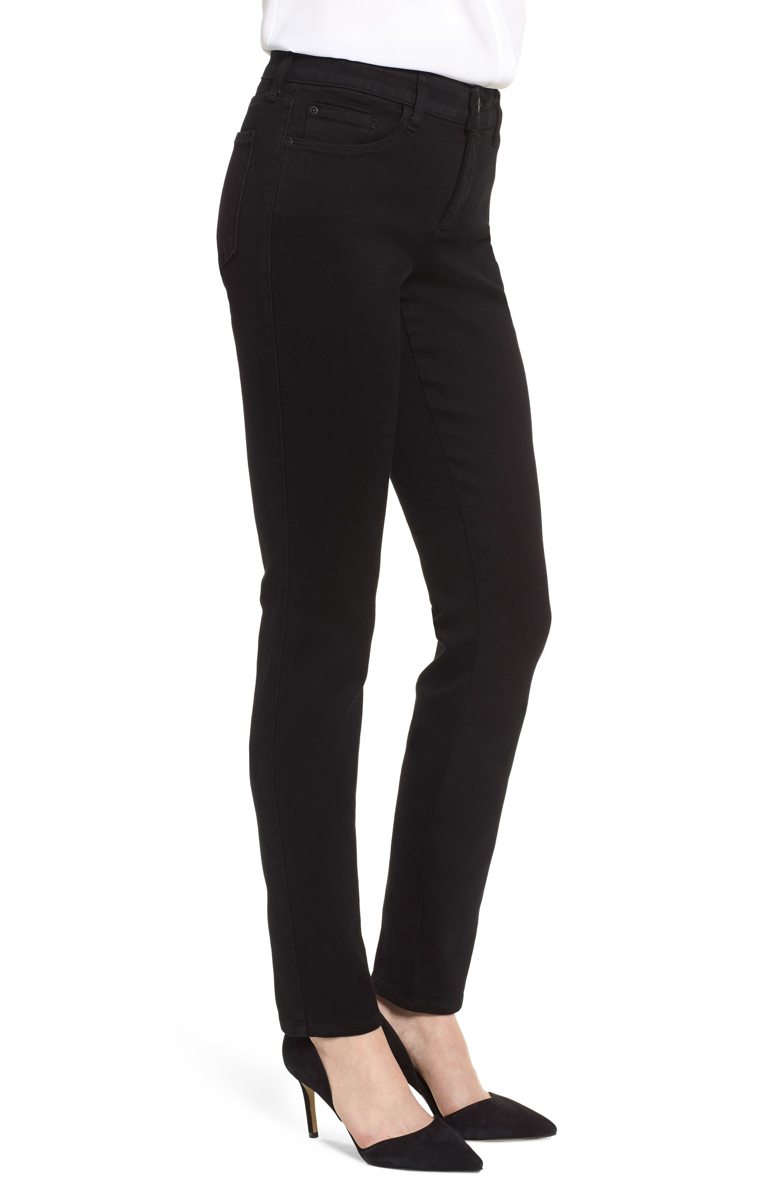 Alina Stretch Skinny Jeans,                             Alternate thumbnail 3, color,                             001