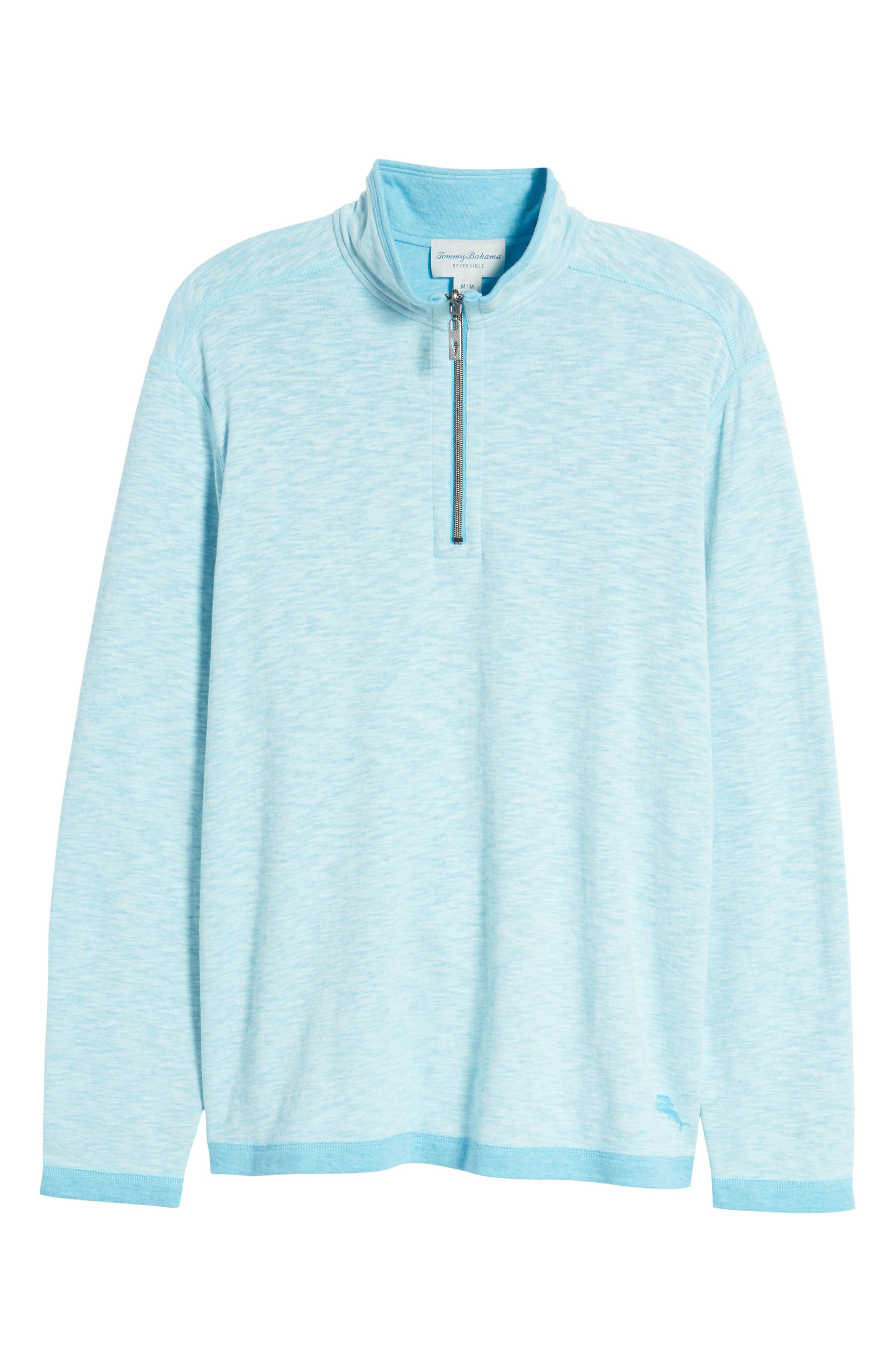 Sea Glass Reversible Quarter Zip Pullover,                             Alternate thumbnail 57, color,