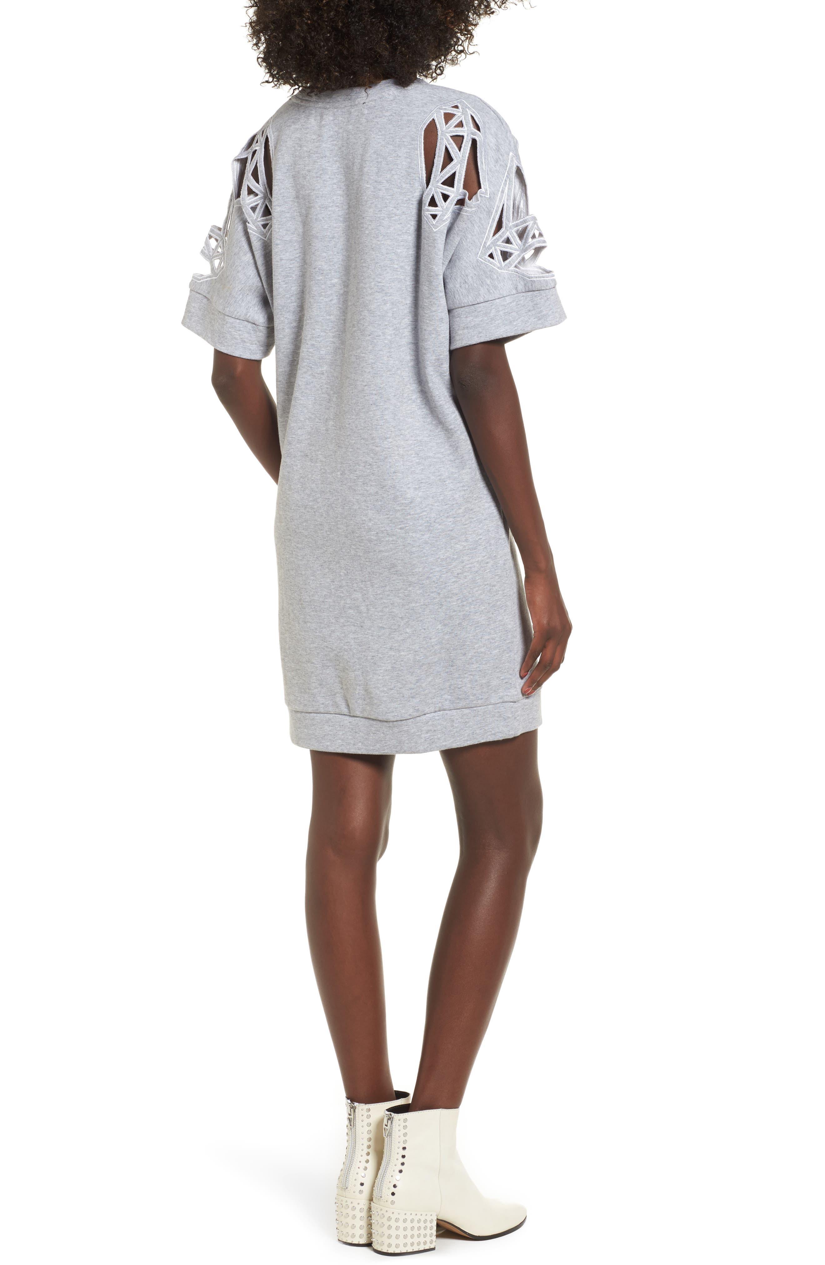 Daffic Sweatshirt Dress,                             Alternate thumbnail 2, color,                             020
