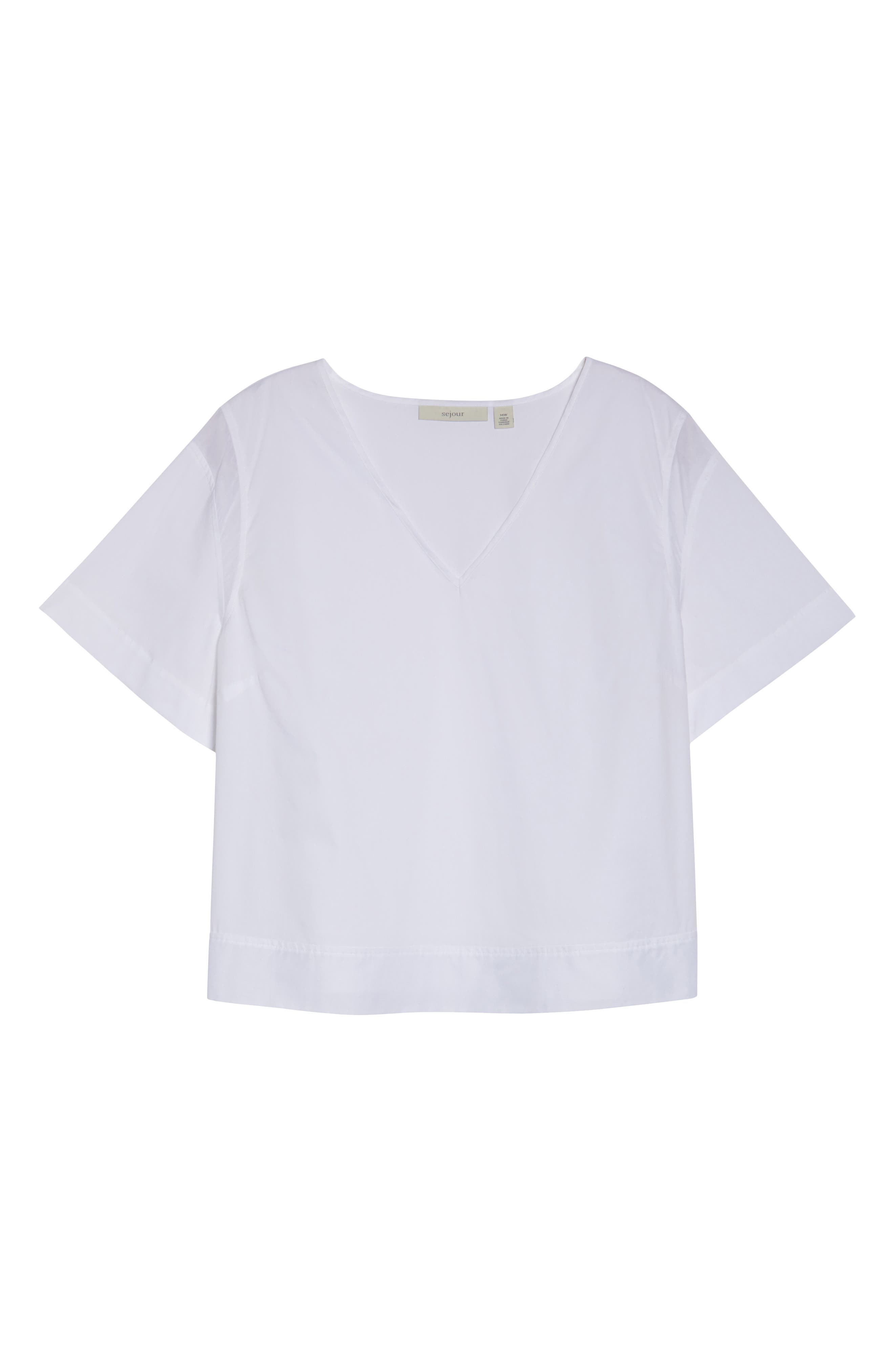 Boxy Popover Top,                             Alternate thumbnail 7, color,