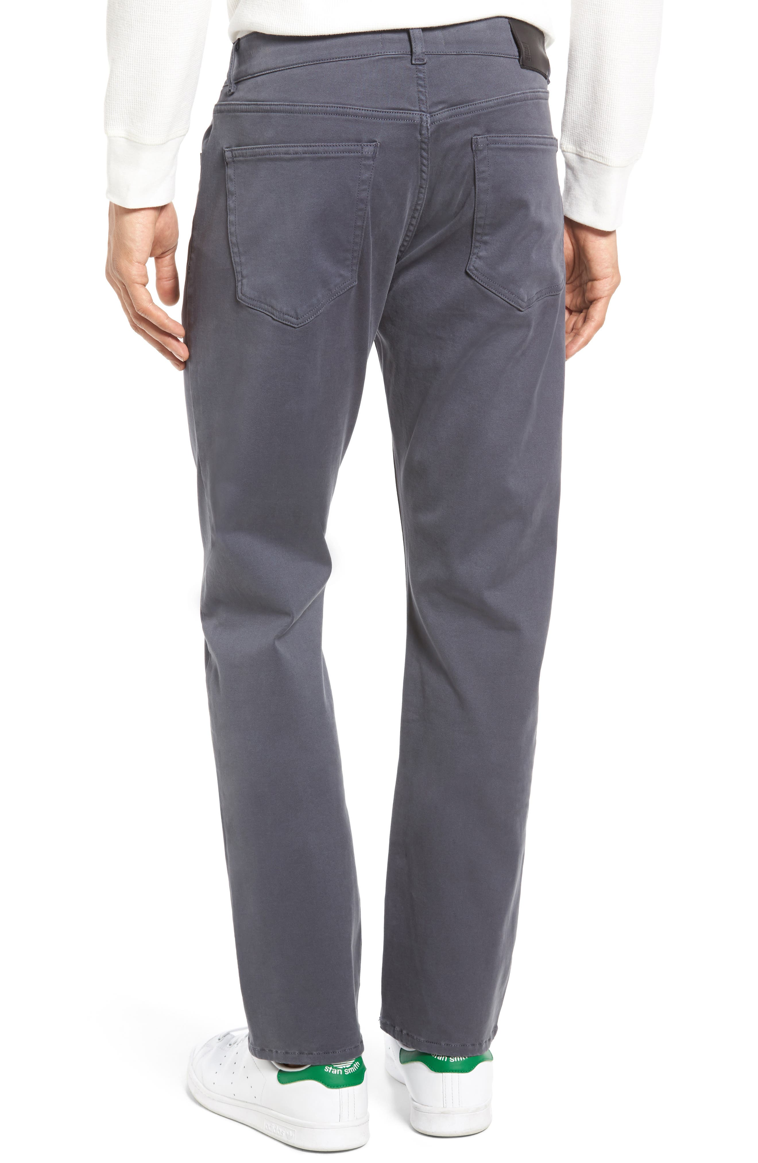 Russell Slim Fit Sateen Twill Pants,                             Alternate thumbnail 19, color,