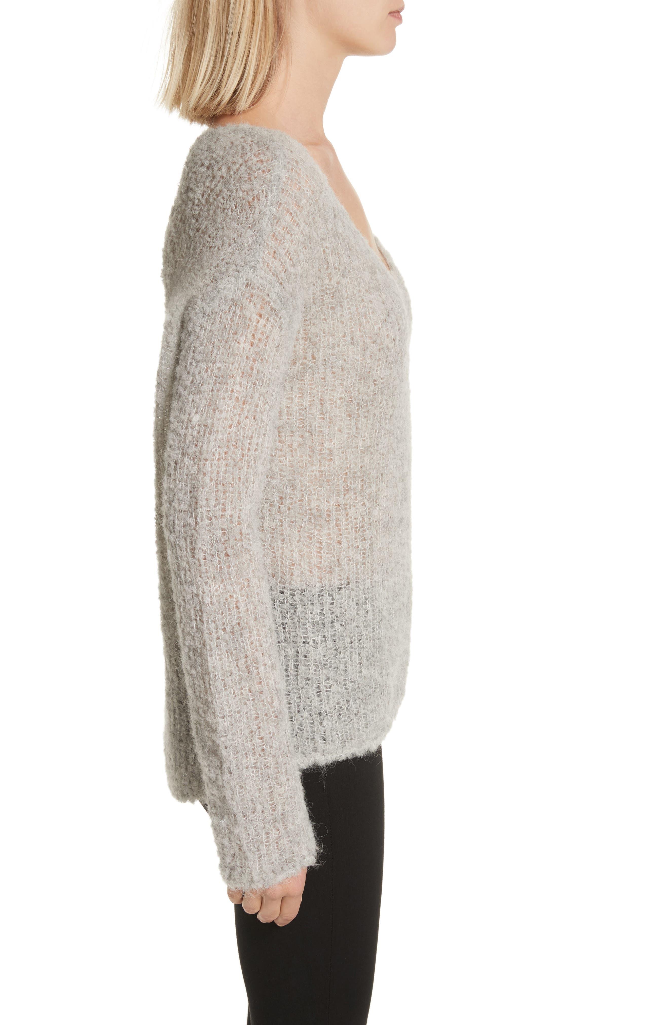 Freda Alpaca Blend Sweater,                             Alternate thumbnail 6, color,