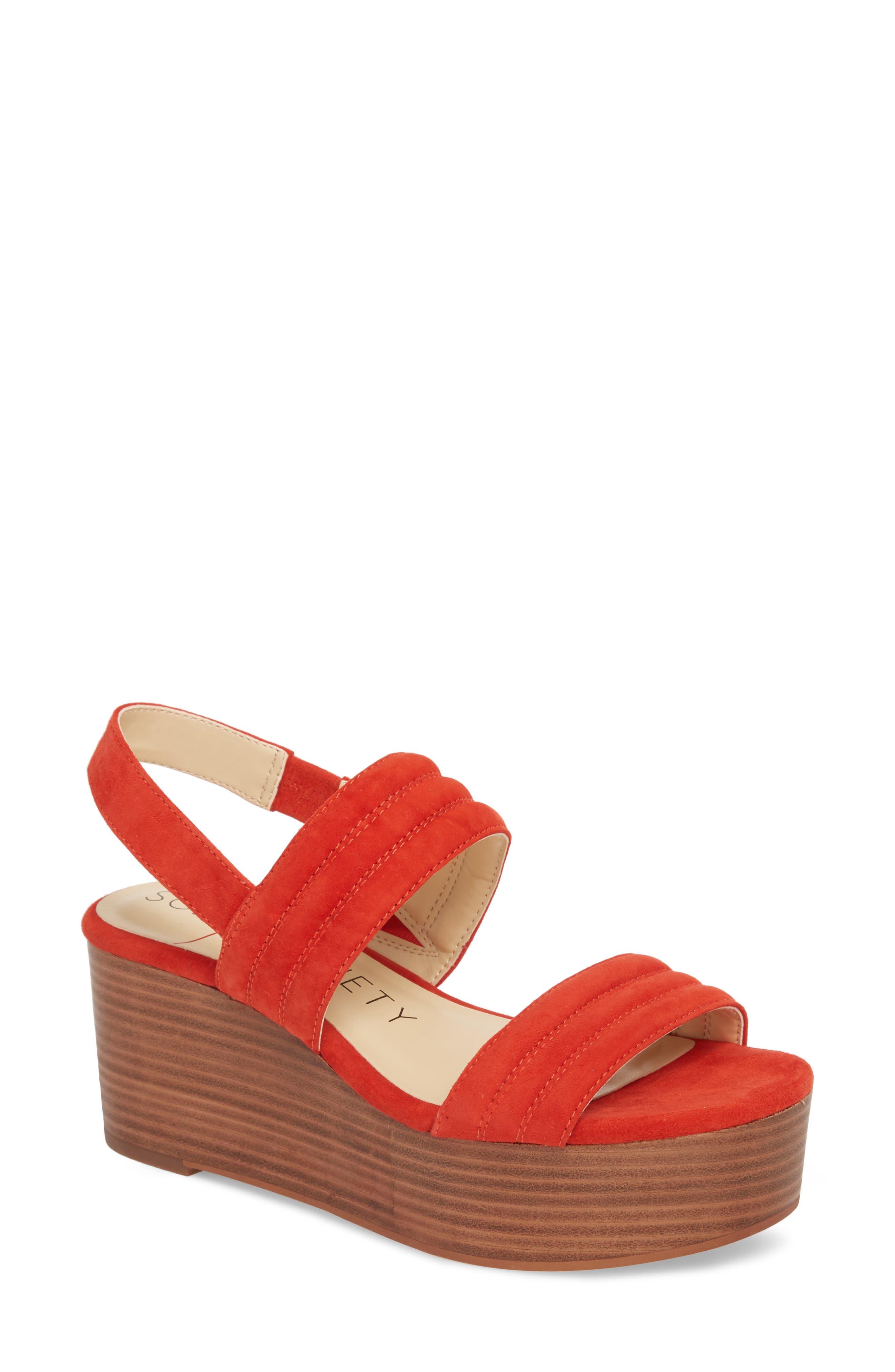 Amberly Platform Sandal,                             Main thumbnail 4, color,