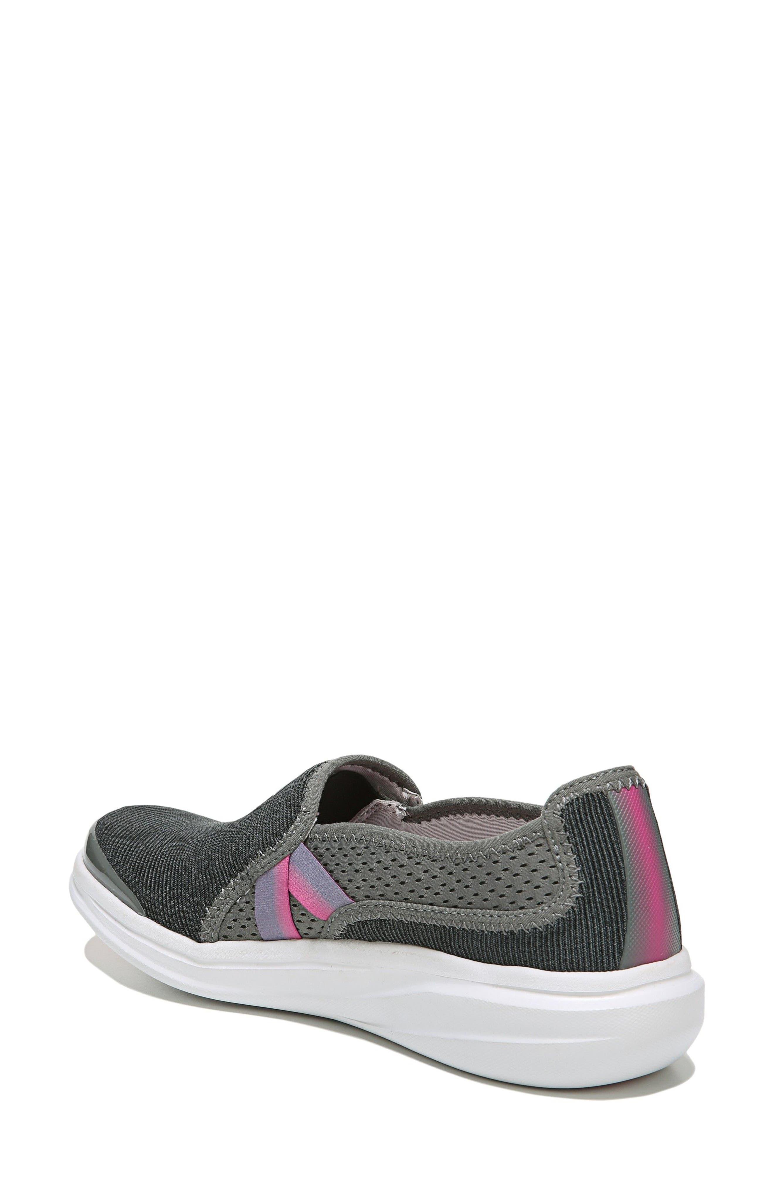 Cruise Slip-On Sneaker,                             Alternate thumbnail 2, color,                             DARK GREY FABRIC