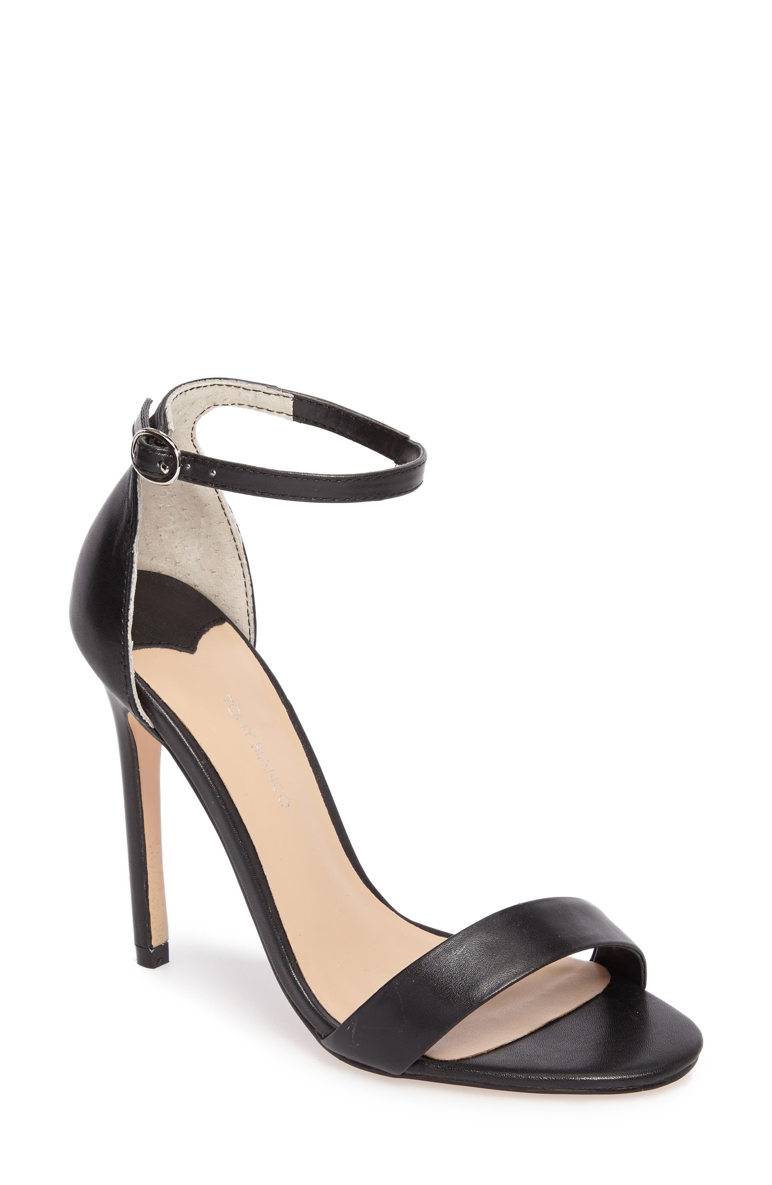 Karvan Ankle Strap Sandal,                             Main thumbnail 1, color,                             002
