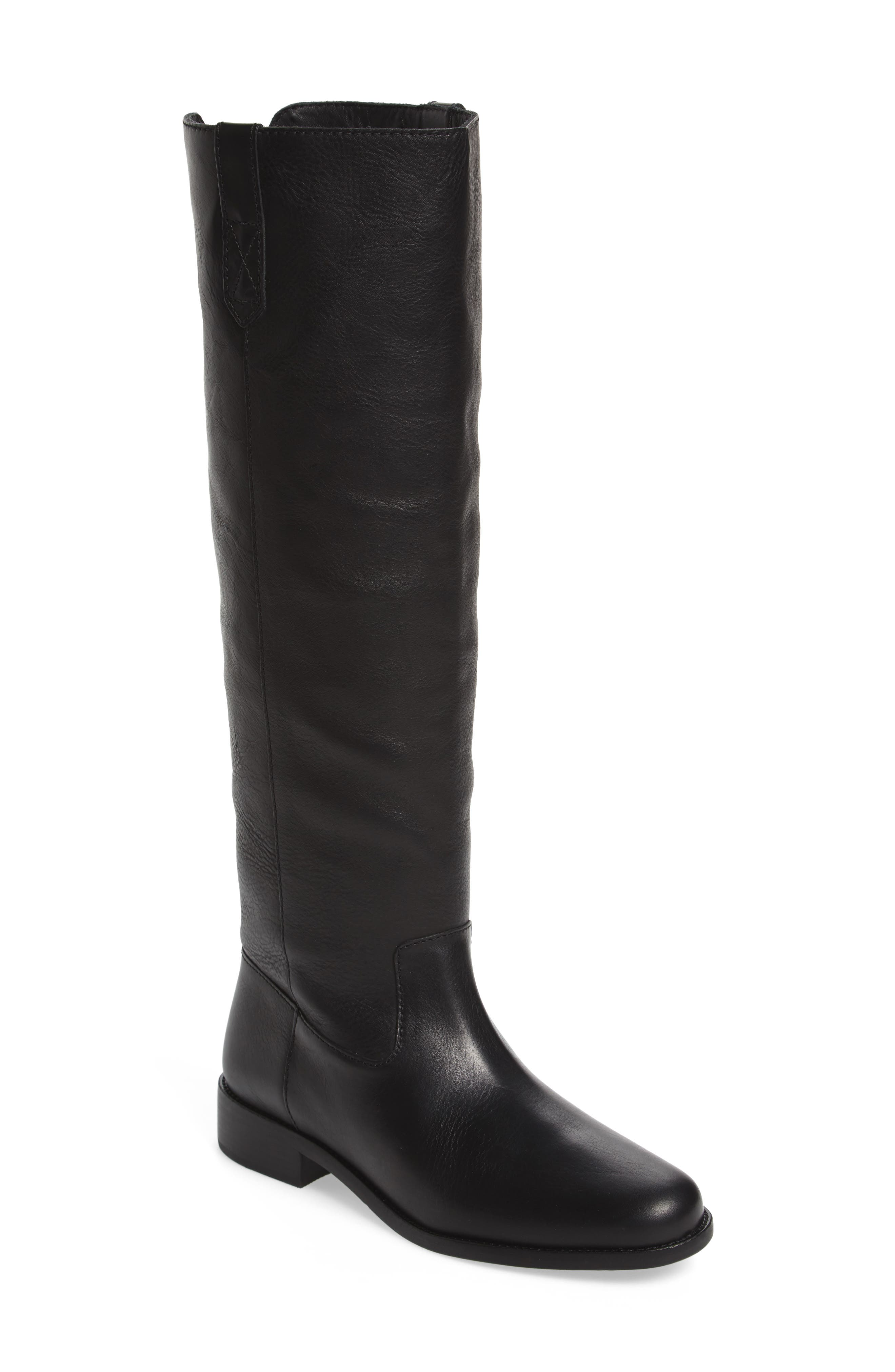 Allie Riding Boot,                         Main,                         color, 001