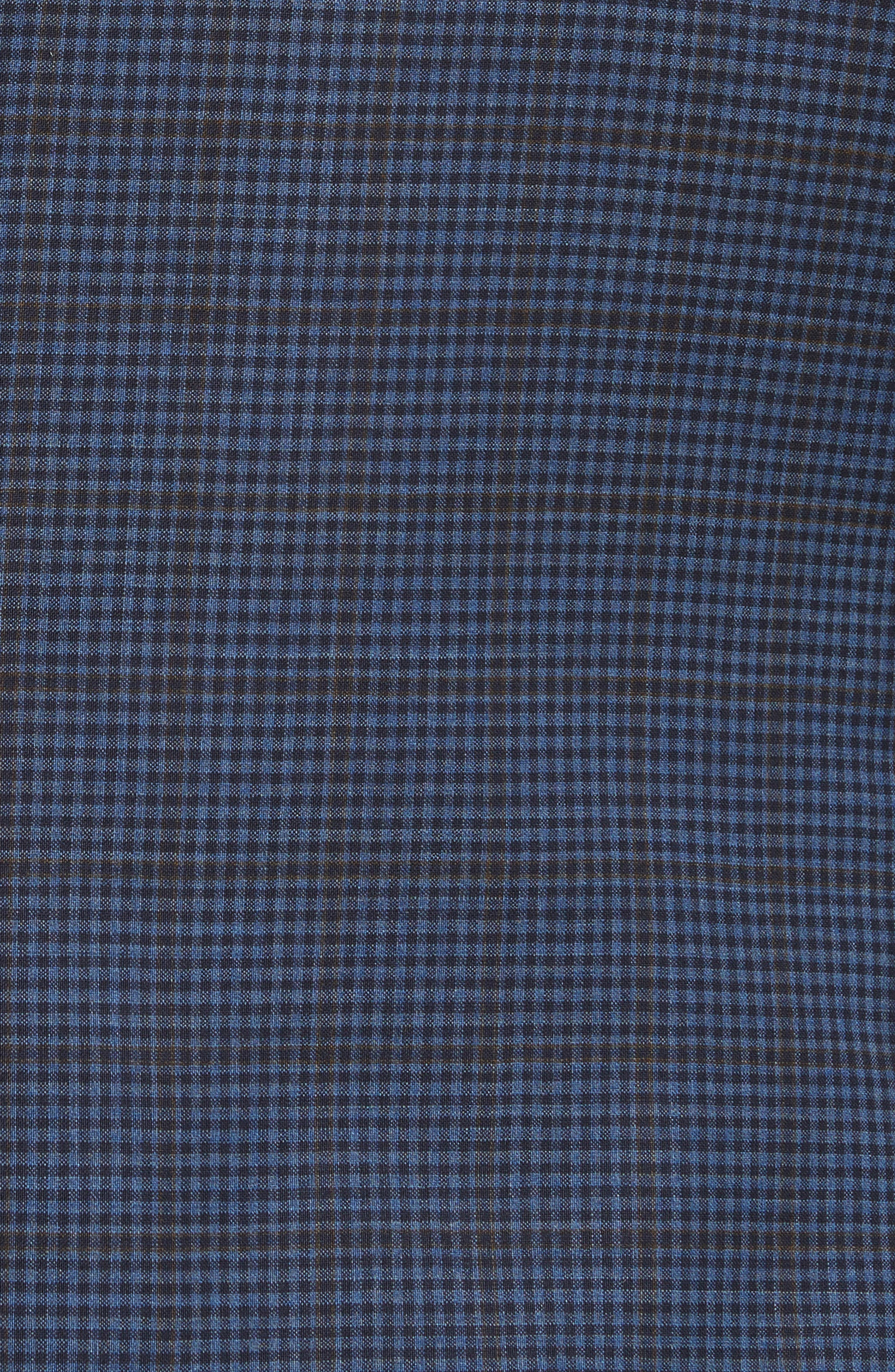 Classic Fit Check Wool Sport Coat,                             Alternate thumbnail 6, color,                             410