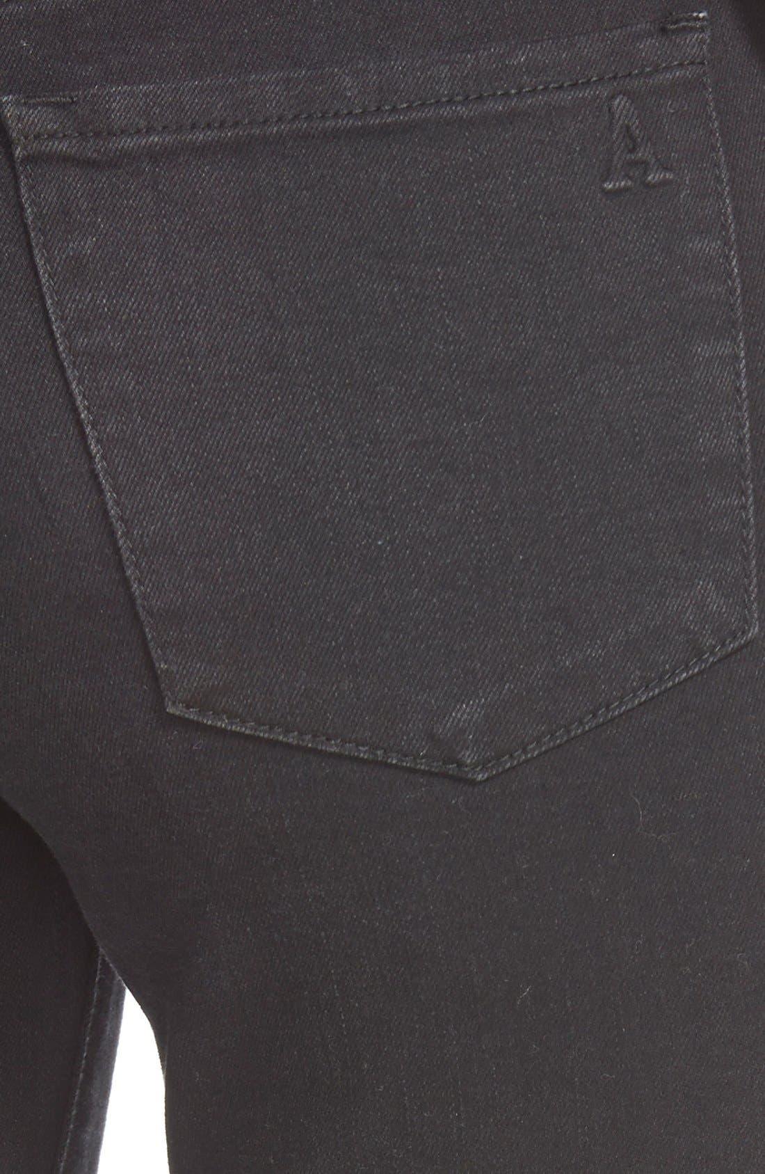 'Sarah' Distressed Skinny Jeans,                             Alternate thumbnail 2, color,                             006