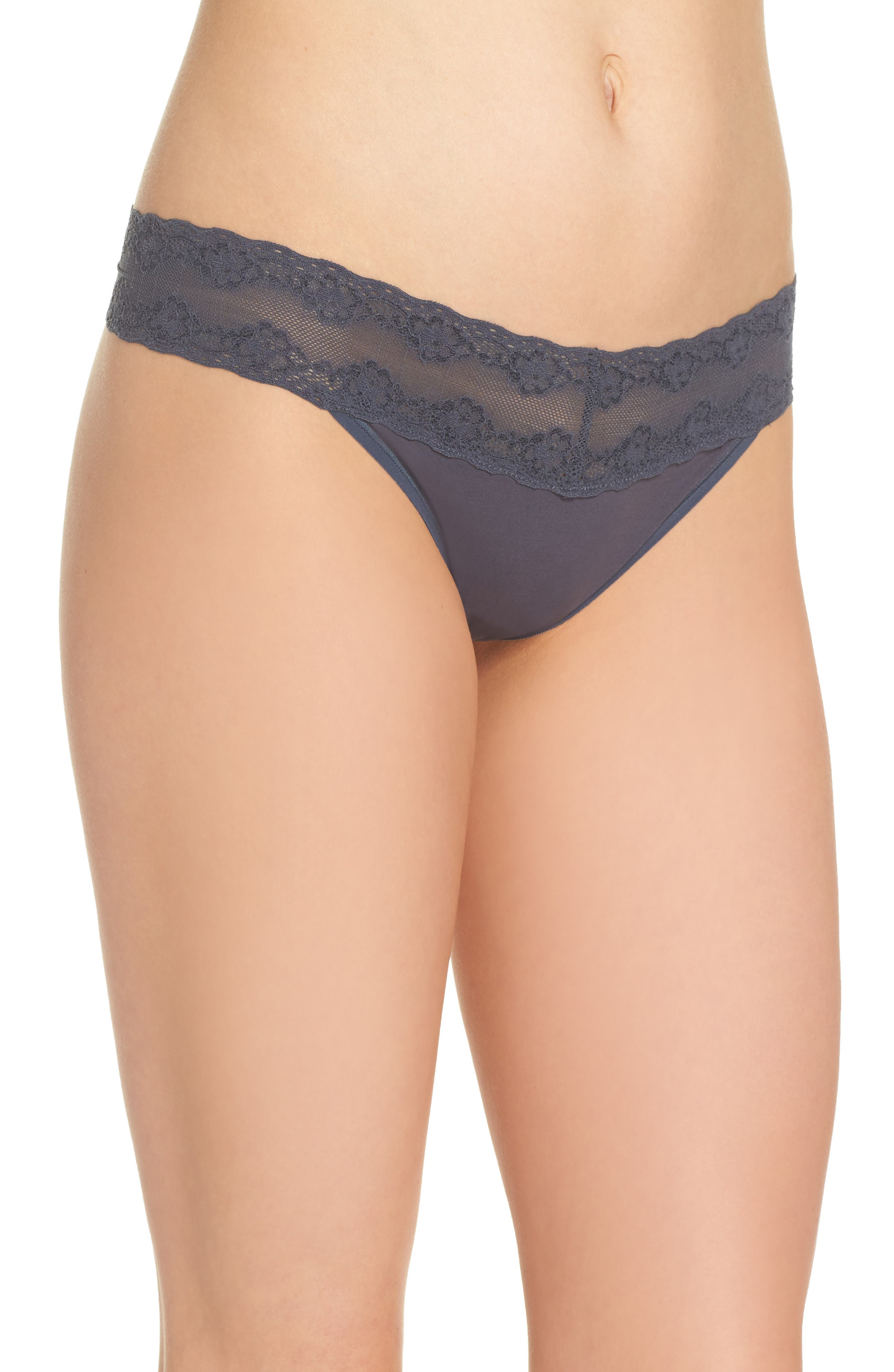 Bliss Perfection Thong,                             Alternate thumbnail 199, color,