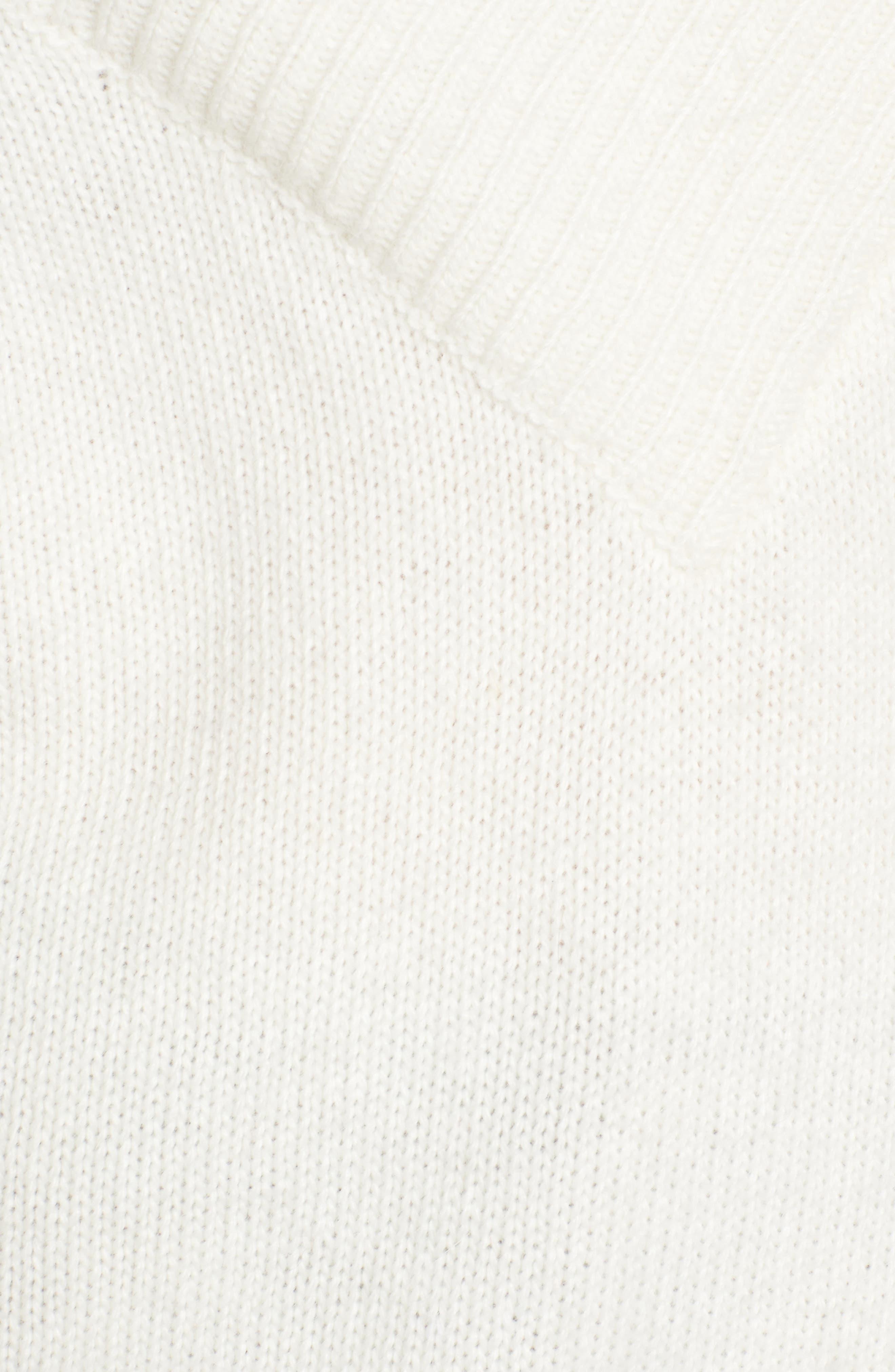 Portrait Neck Sweater,                             Alternate thumbnail 5, color,