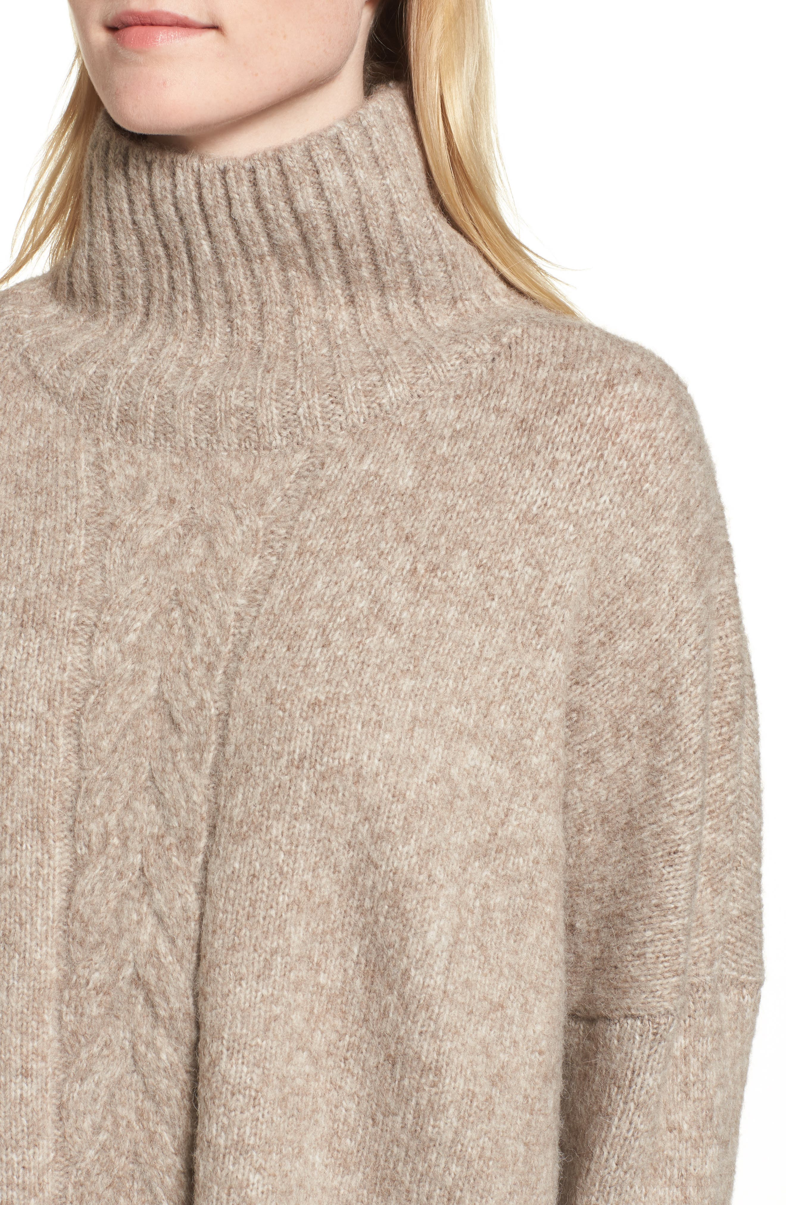 Ora Mock Neck Sweater,                             Alternate thumbnail 4, color,                             250