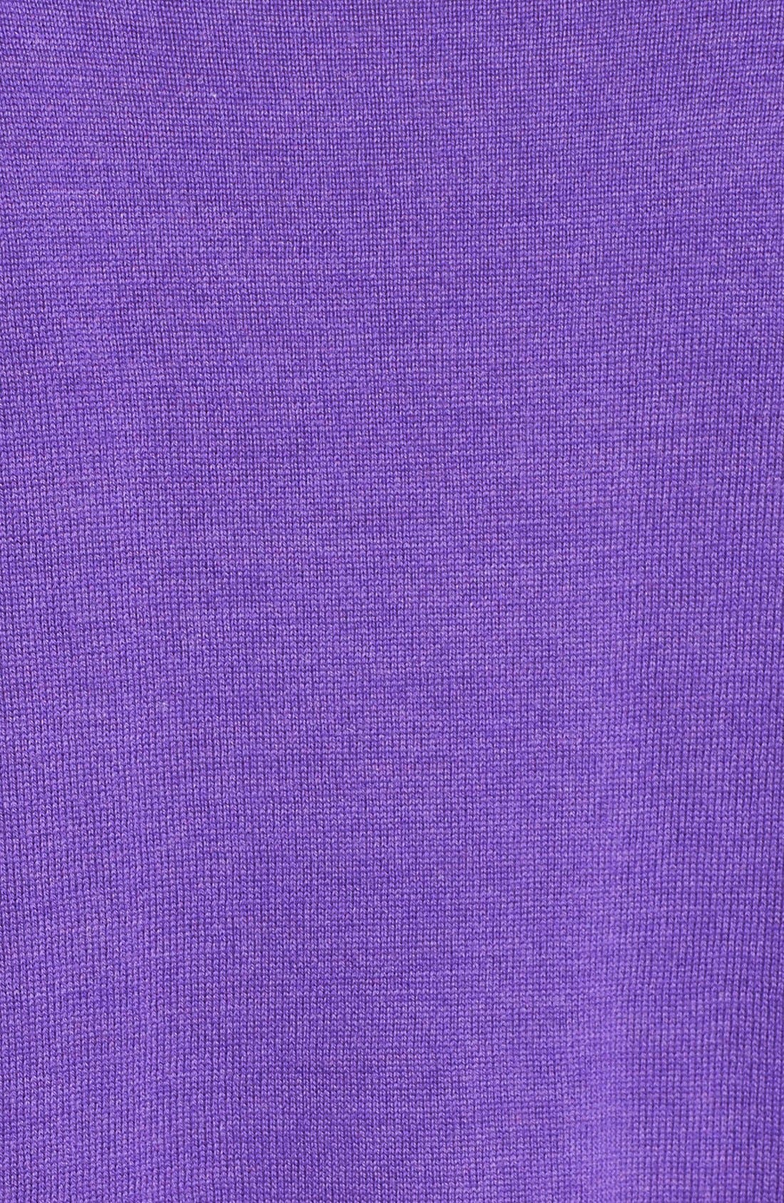 Lightweight Merino Jersey V-Neck Tunic,                             Alternate thumbnail 46, color,