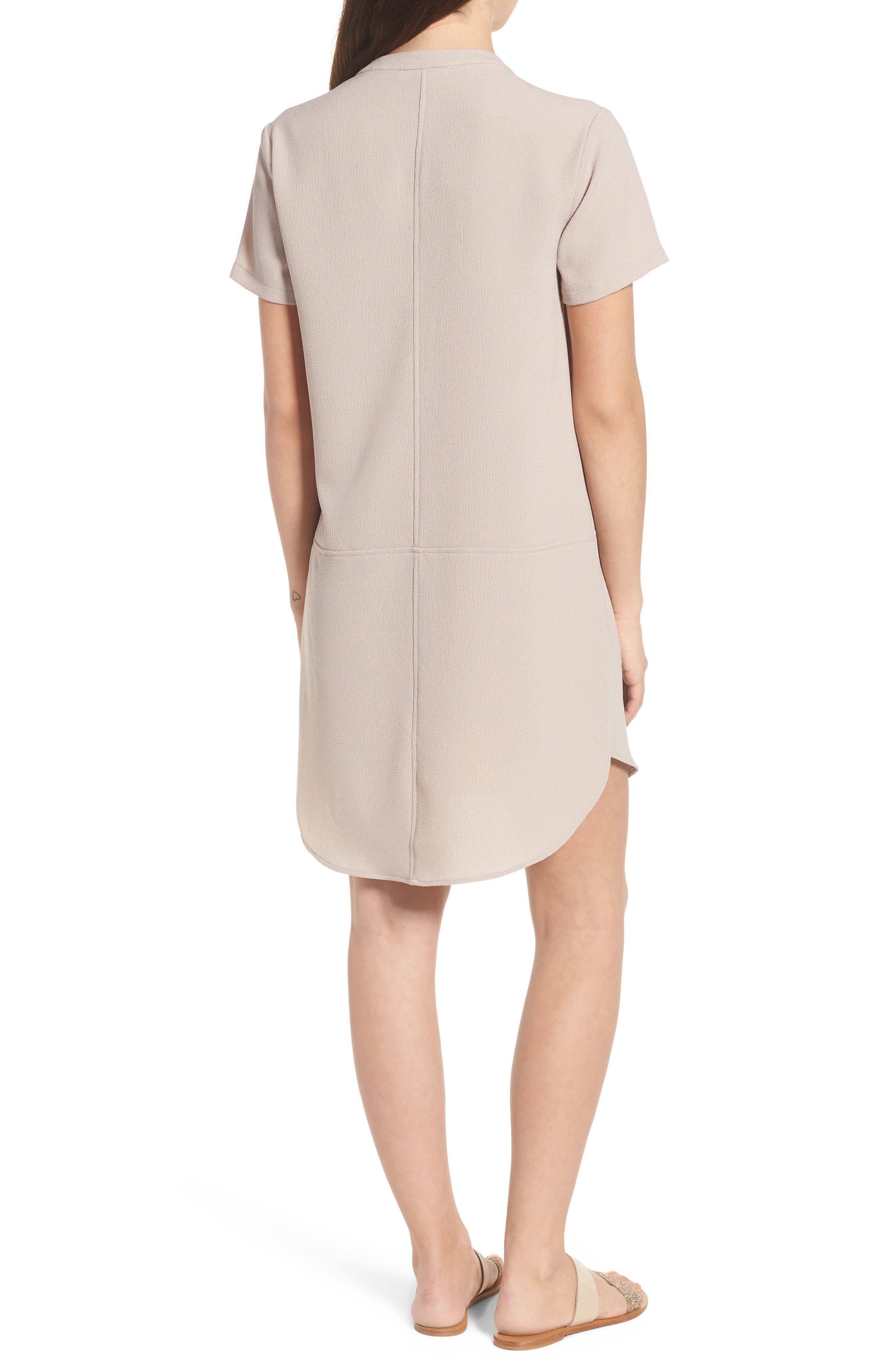 Hailey Crepe Dress,                             Alternate thumbnail 32, color,