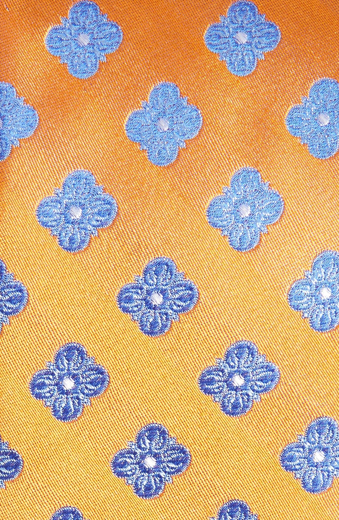 Cameron Floral Medallion Silk Tie,                             Alternate thumbnail 18, color,