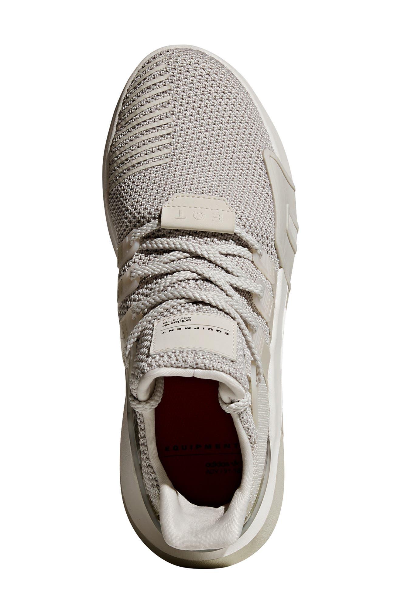 EQT Basketball ADV Sneaker,                             Alternate thumbnail 4, color,                             GREY/ CHALK WHITE