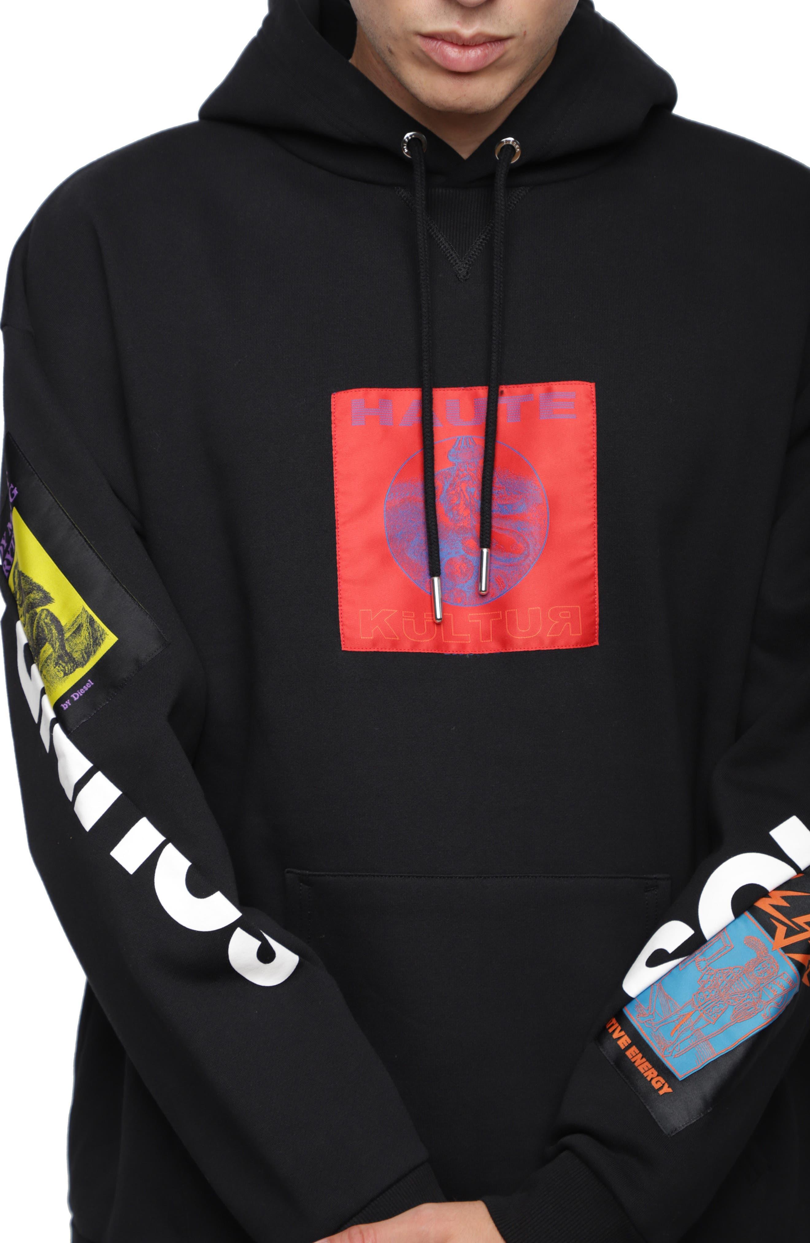 S-JACK-XA Hoodie Sweatshirt,                             Alternate thumbnail 3, color,                             001