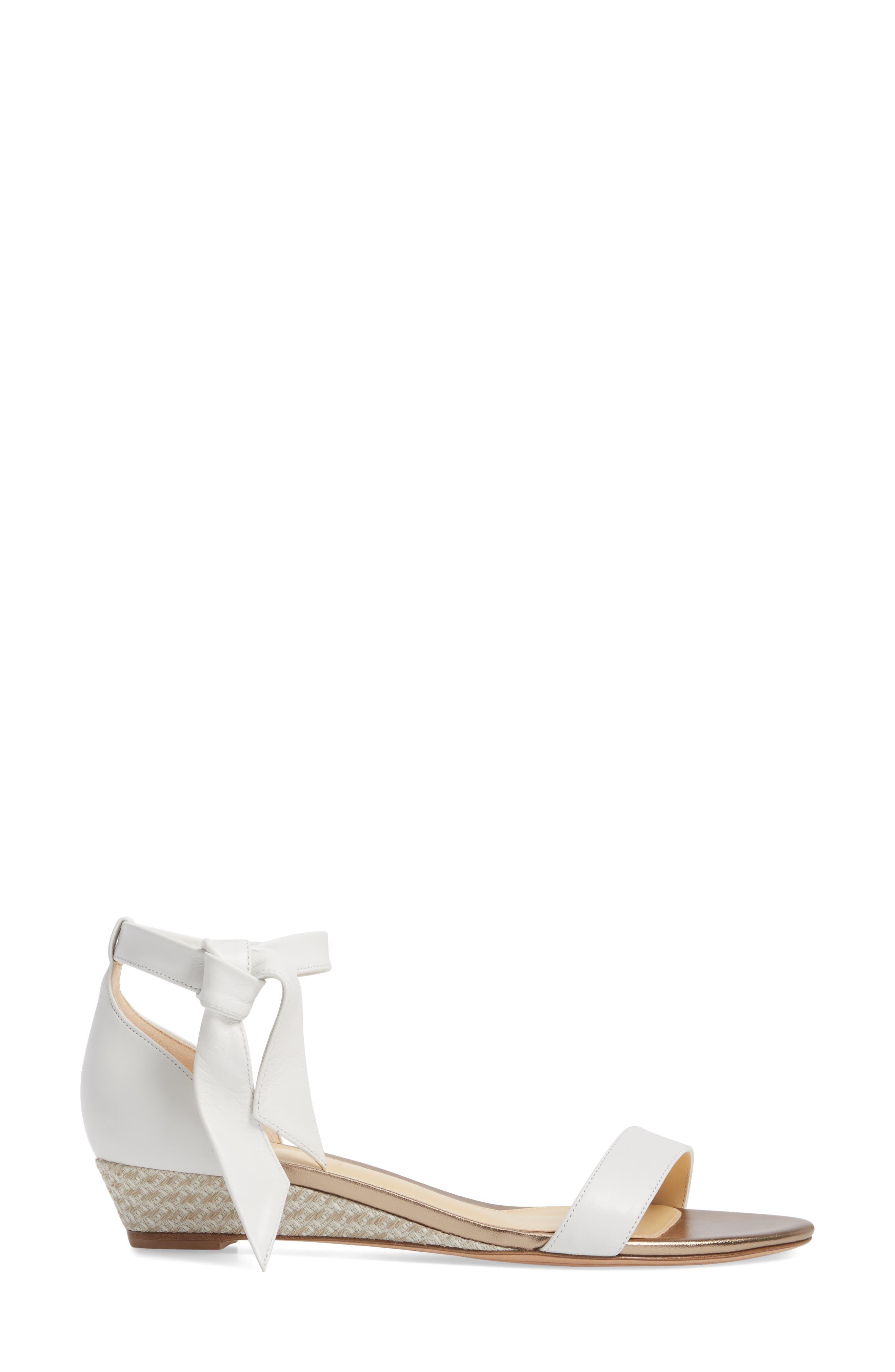 Clarita Wedge Sandal,                             Alternate thumbnail 3, color,