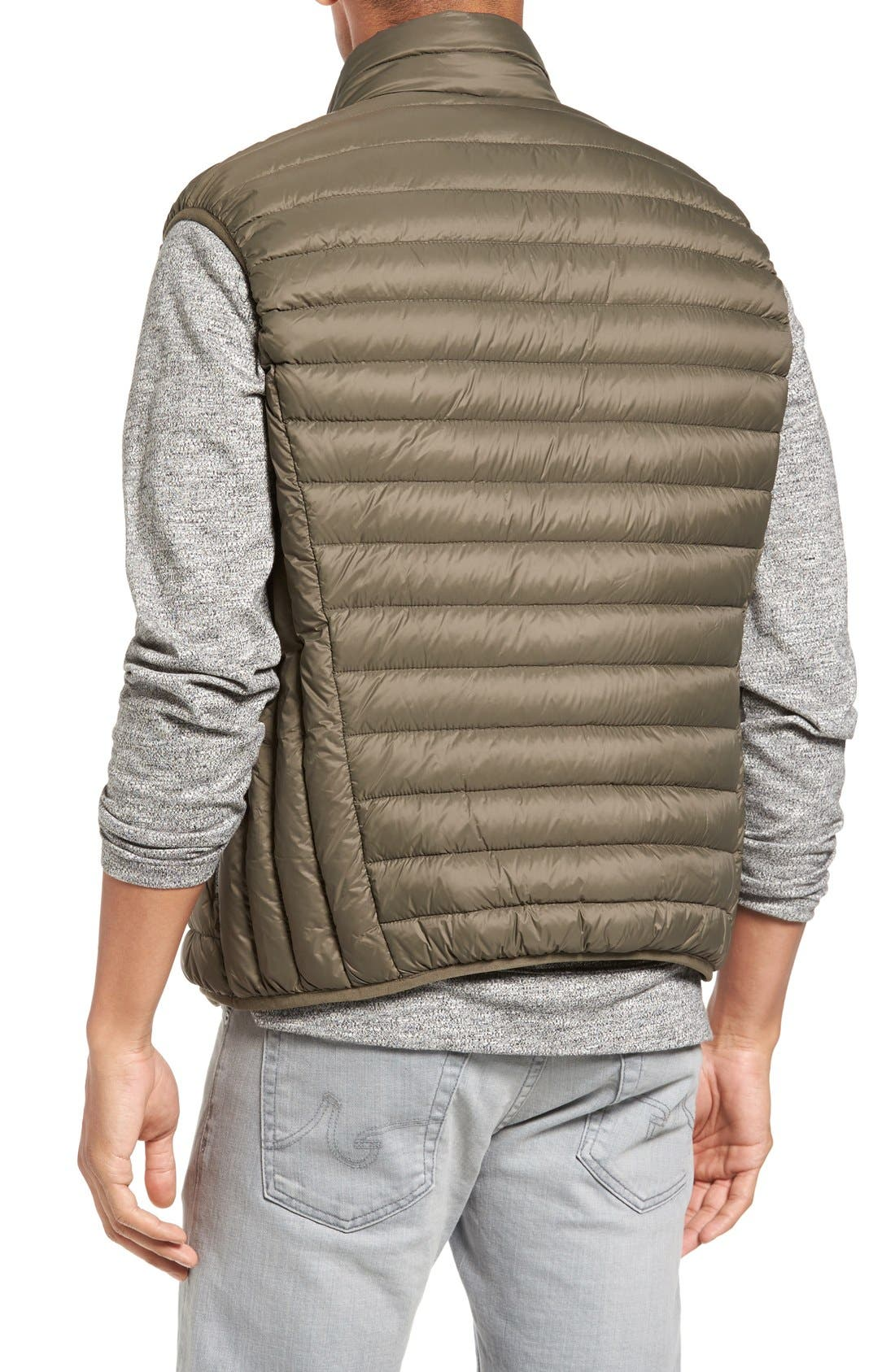 Lightweight Quilted Down Vest,                             Alternate thumbnail 4, color,