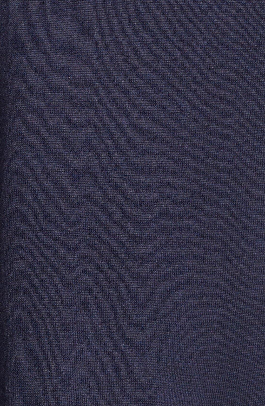 Lightweight Merino Jersey V-Neck Tunic,                             Alternate thumbnail 62, color,